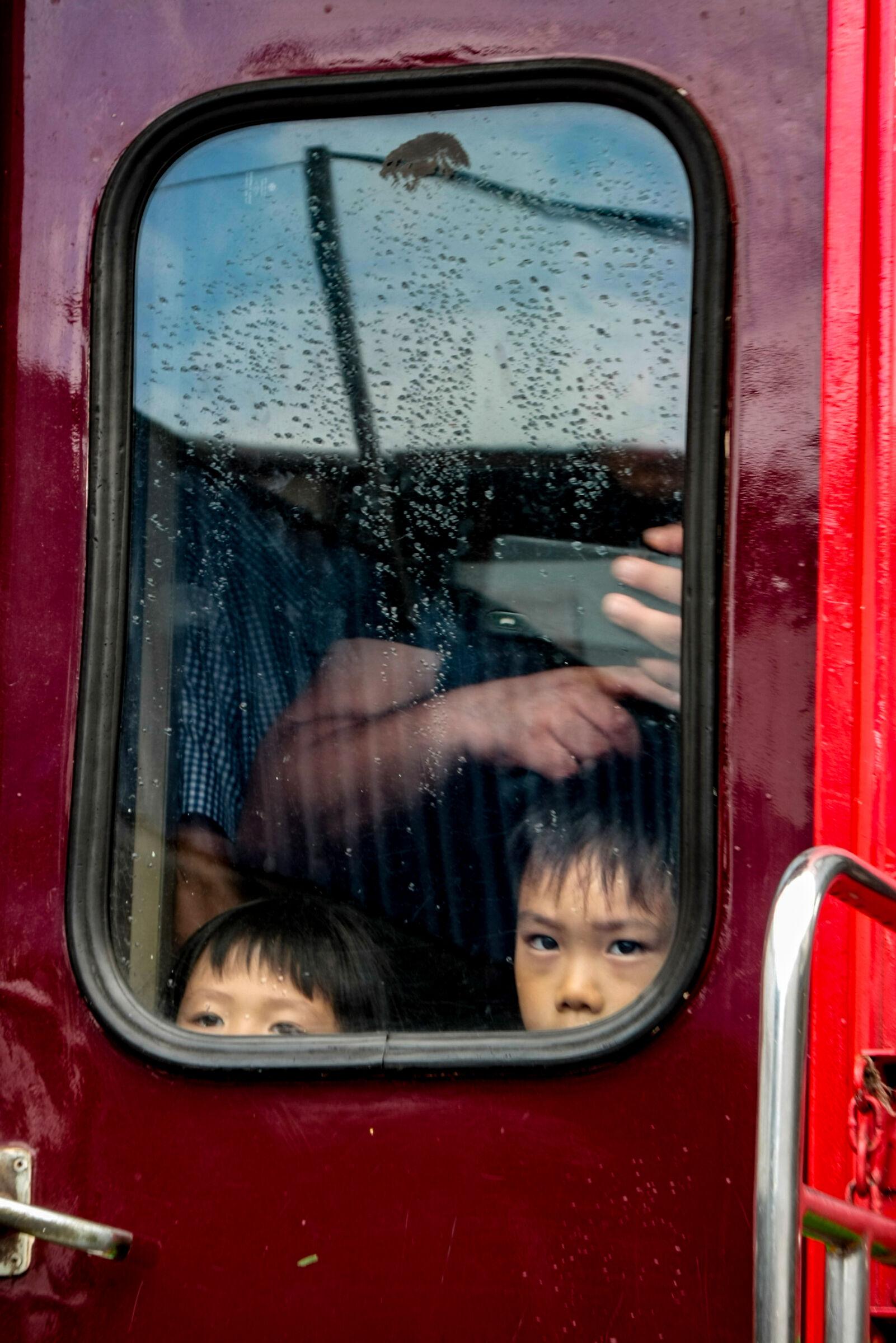 Gli occhi dei bambini Thailandesi...