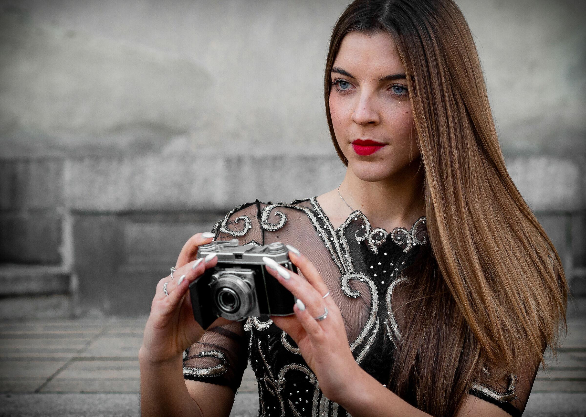 Model photographer...