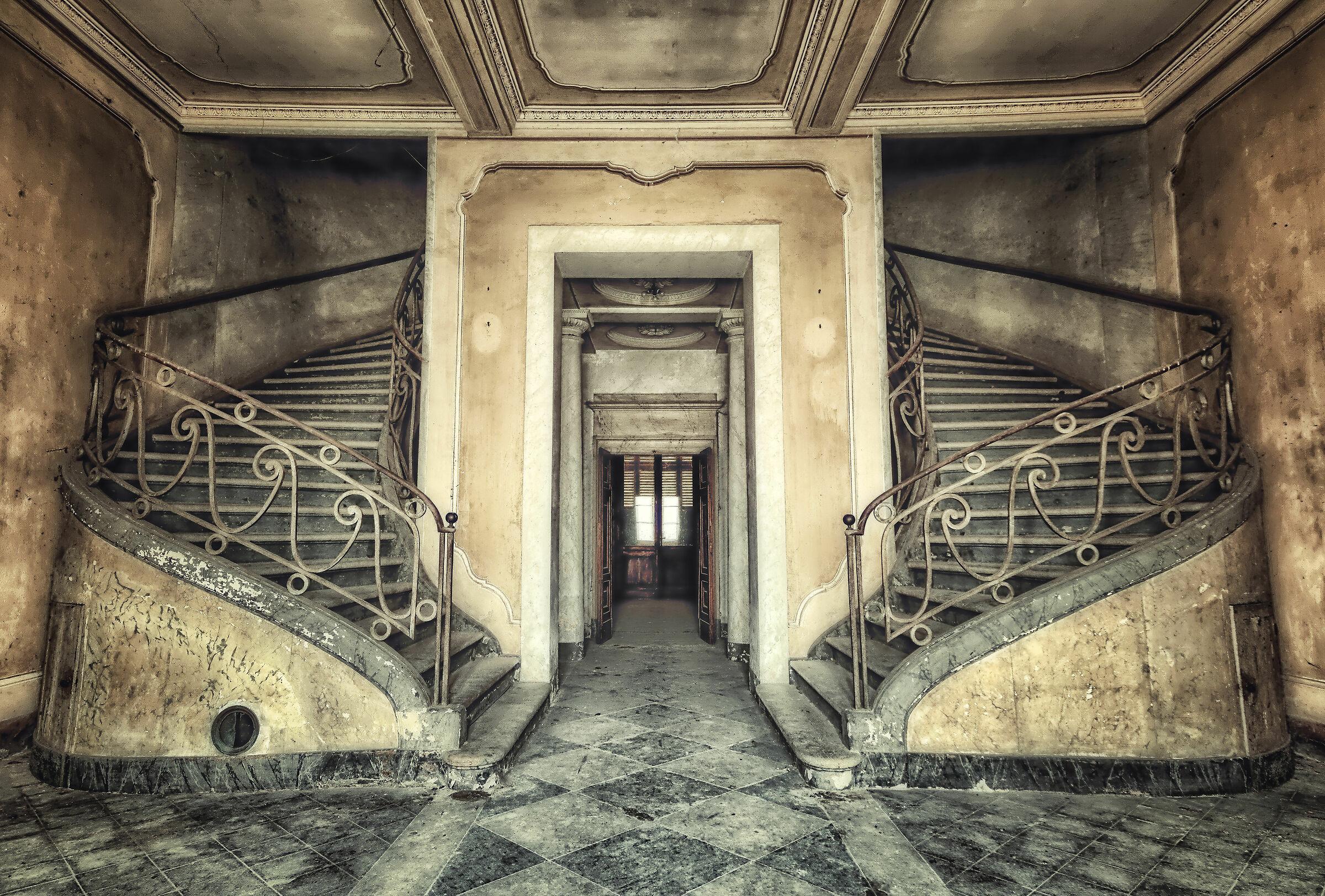 The Duchess's Stairs...