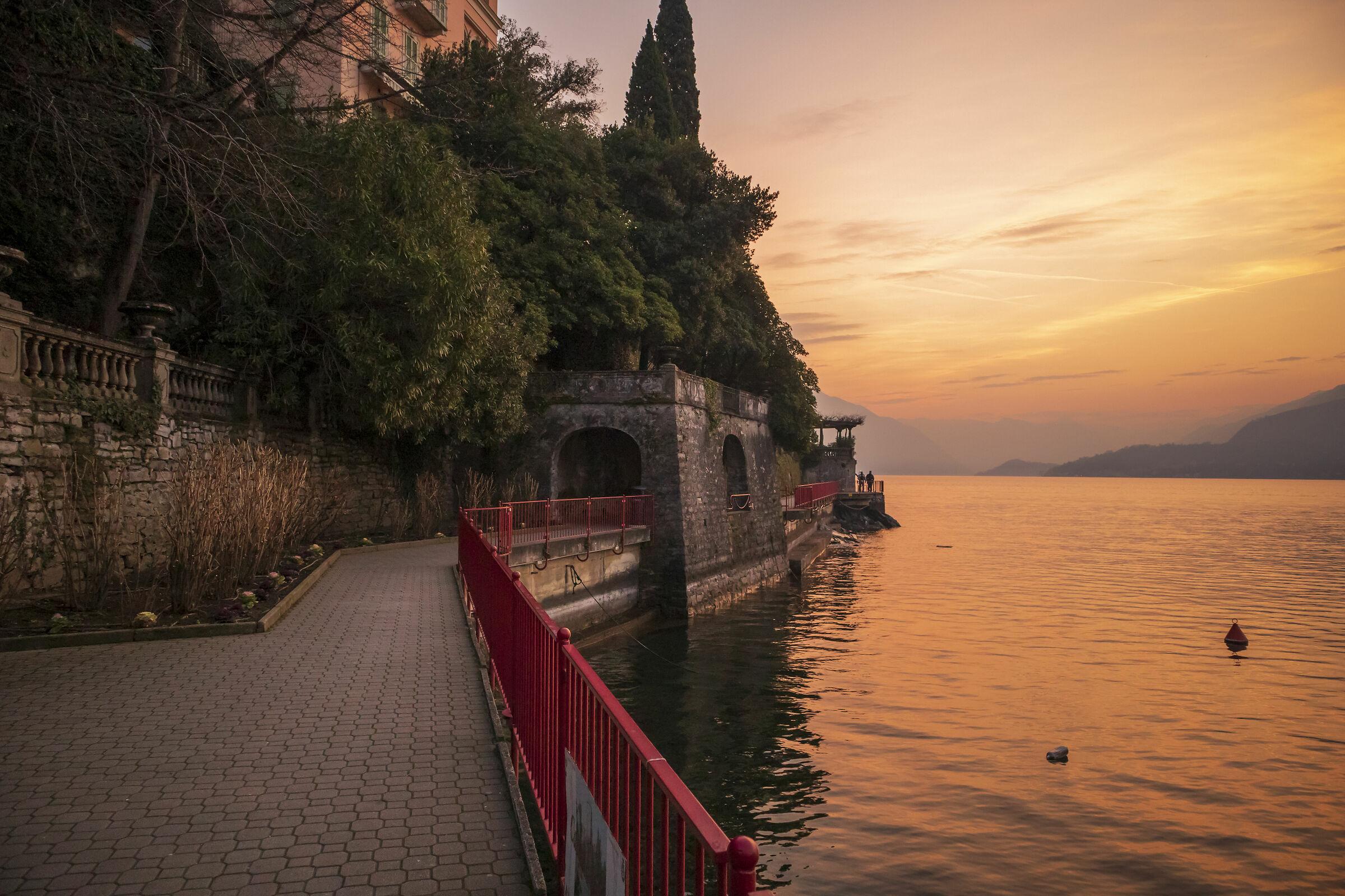 """Quel ramo del lago di Como..."" - Varenna..."