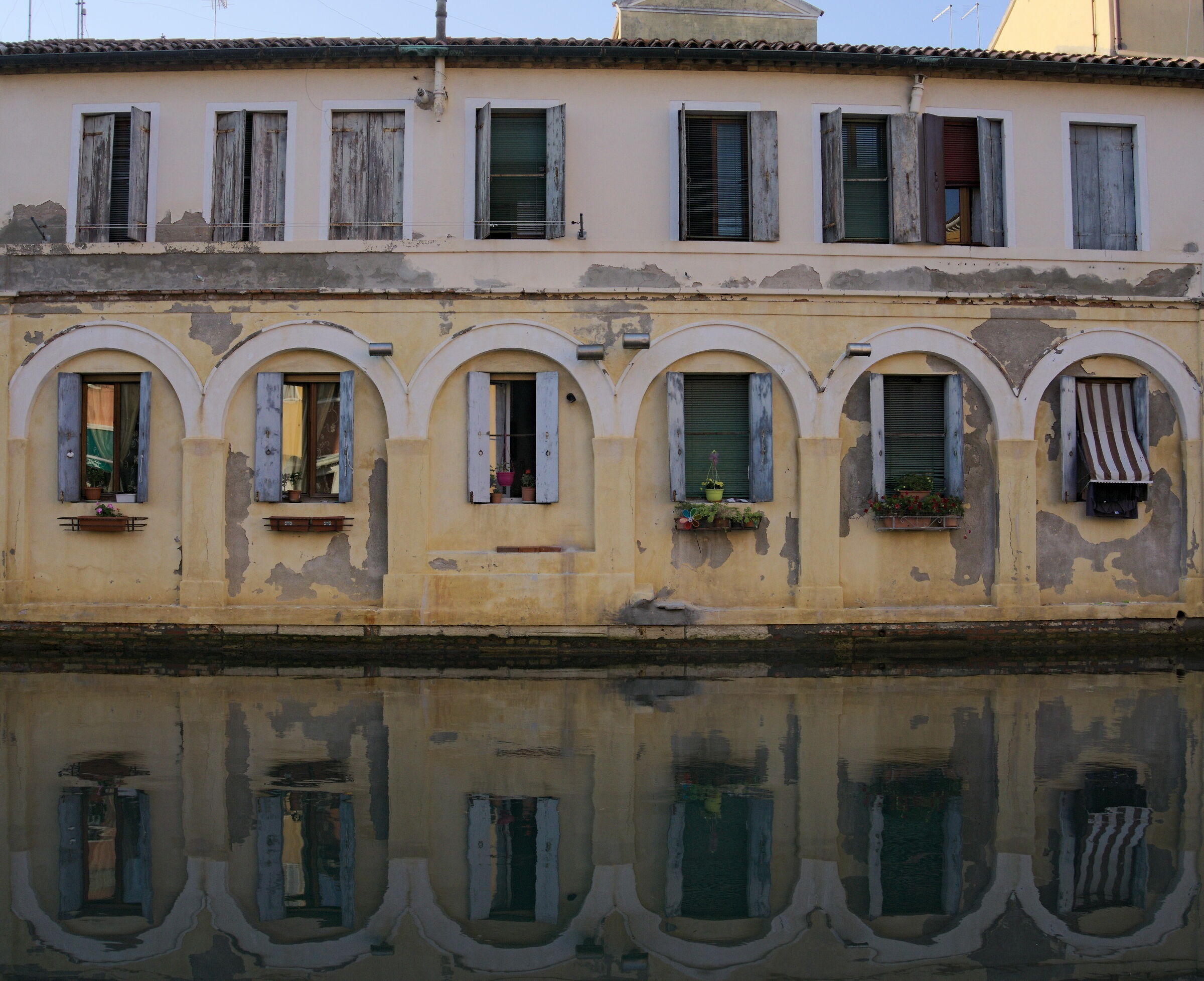 chioggia everything is mirrored...