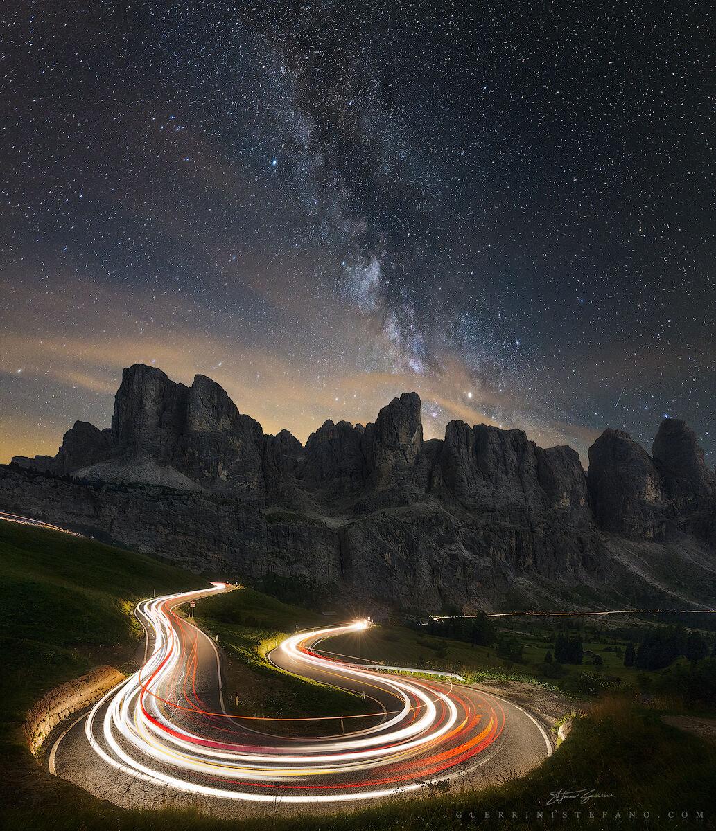 Dolomites Night, And 11...