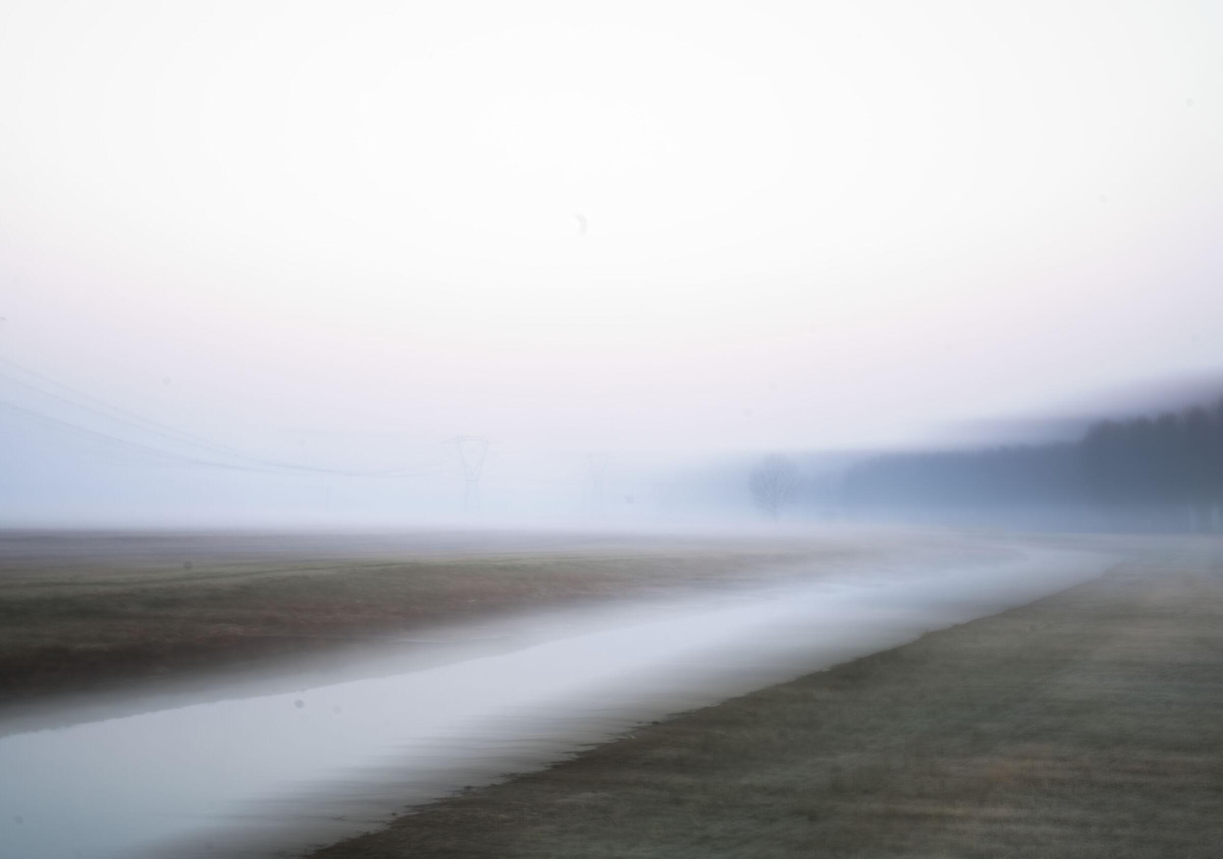 il mattino nebbioso...