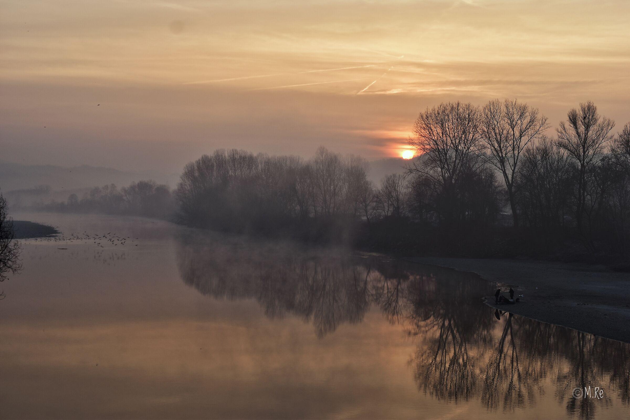 Sunrise on the Po...