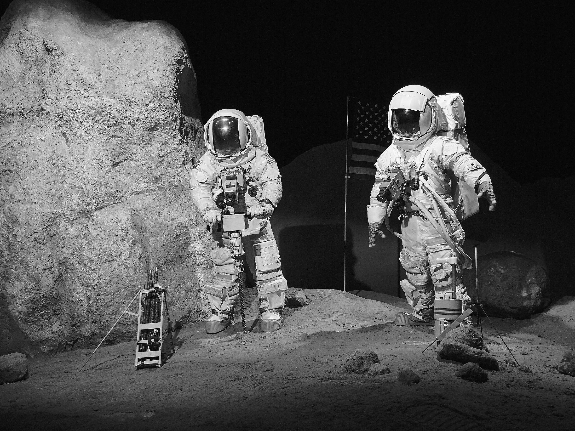 On the Moon...