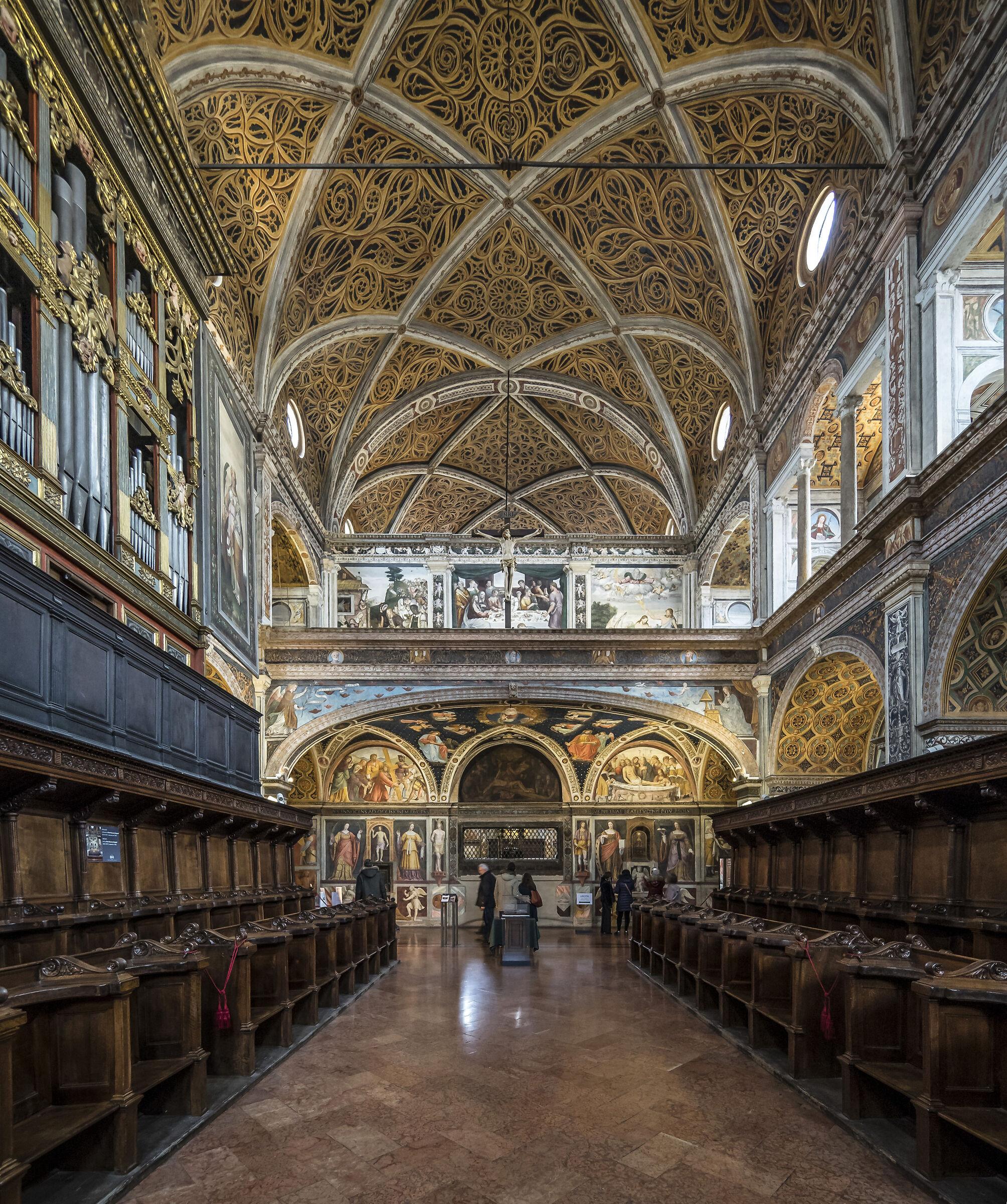 Coro delle Monache presso San Maurizio - 3...