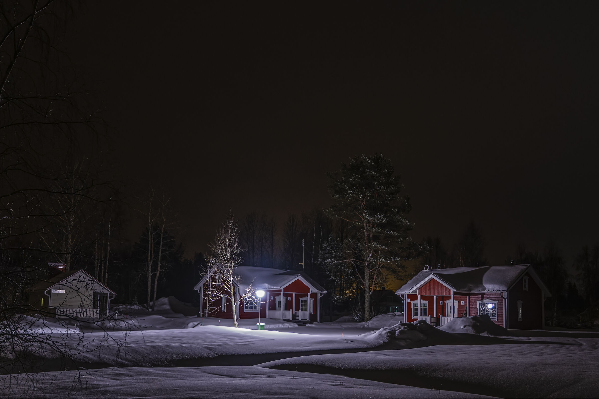 Dietro casa , lapponia finlandese...