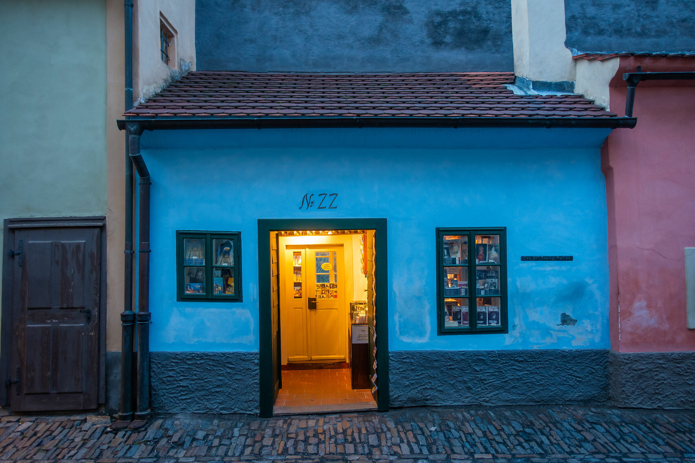 Prague home of Kafka...