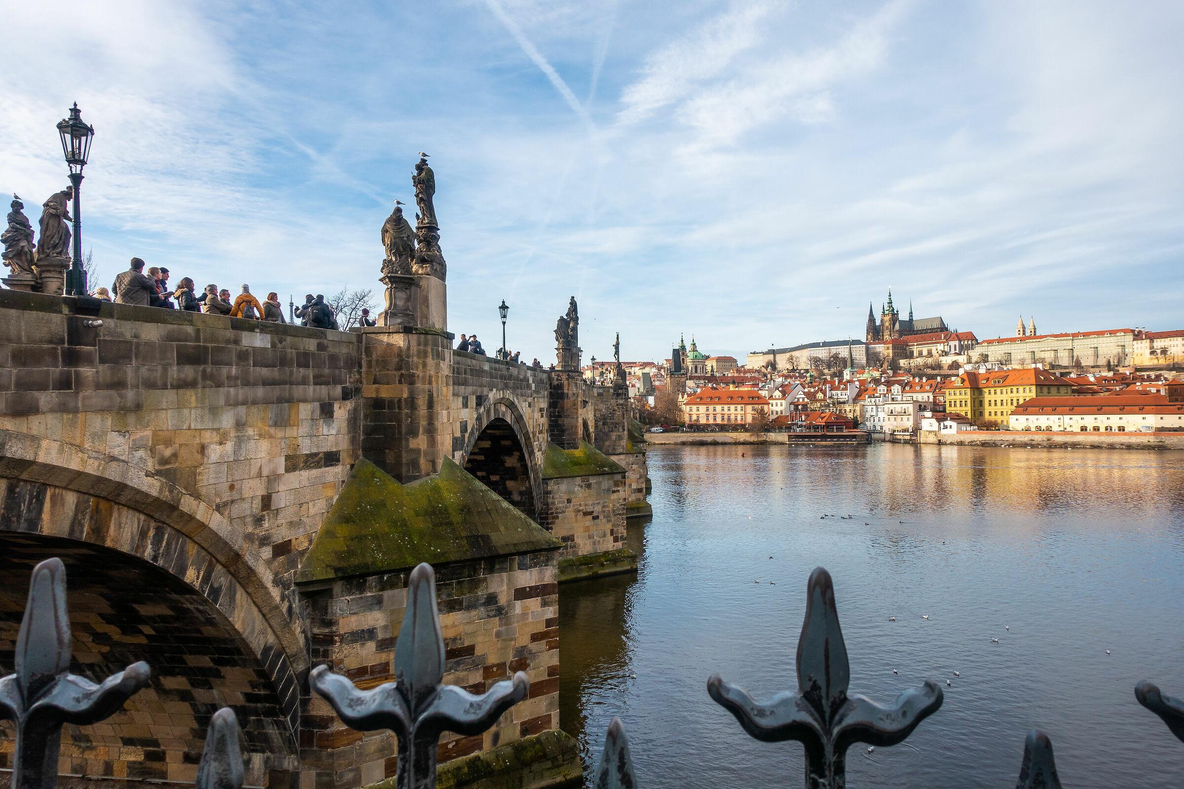 Prague Charles Bridge...