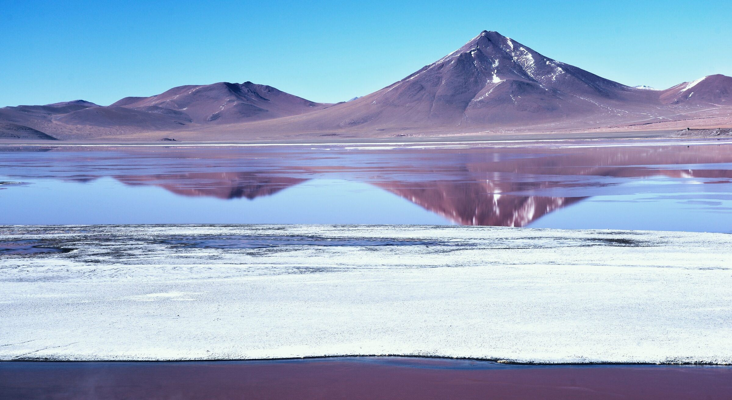 Laguna Colorada, Bolivia (color version)...
