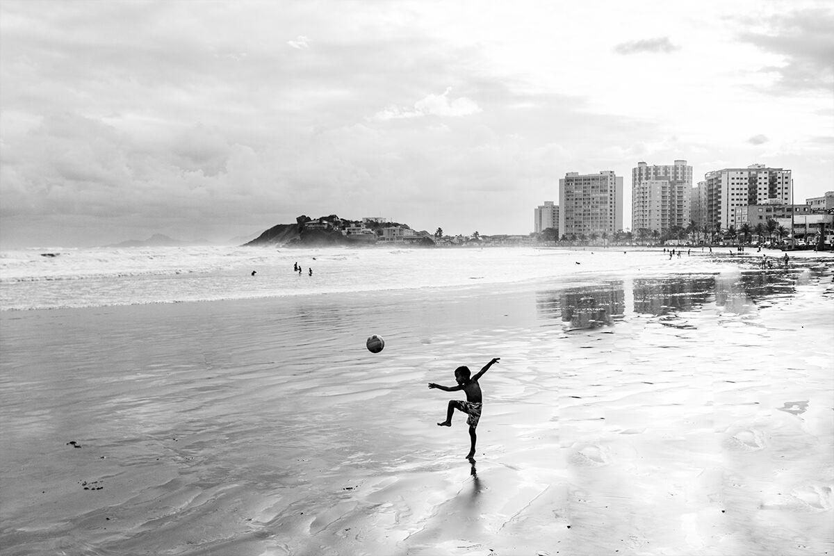 Praia de Itanhaém, Brazil ...
