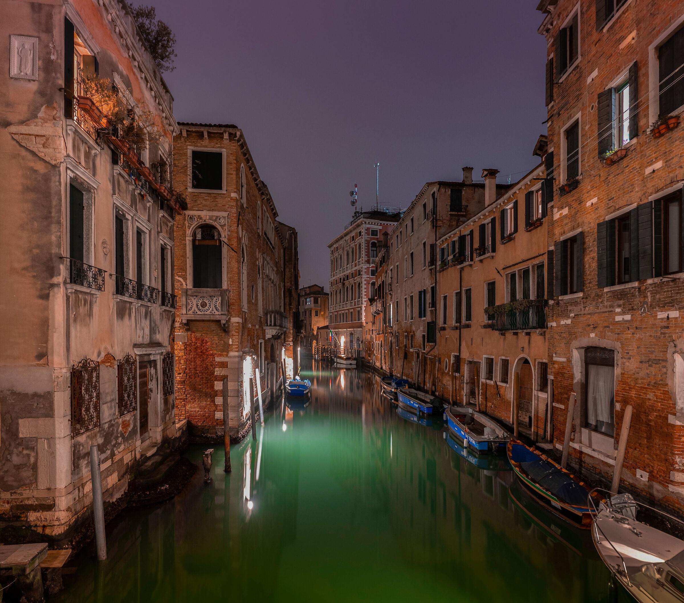 Venetian canaletto...