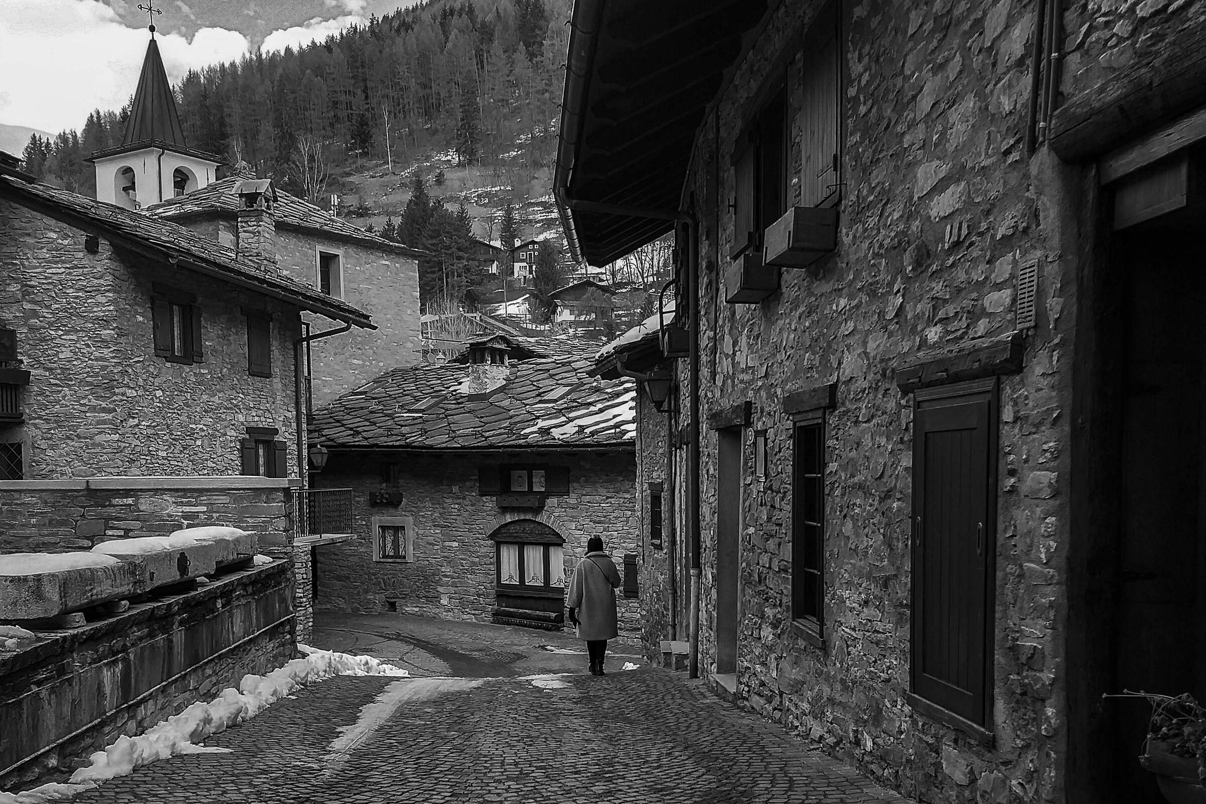 Prè-Saint Didier: in the village of Verrand...