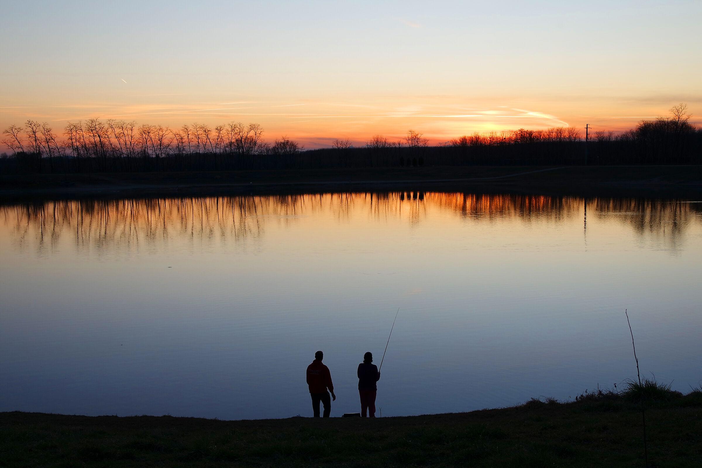 Pond...