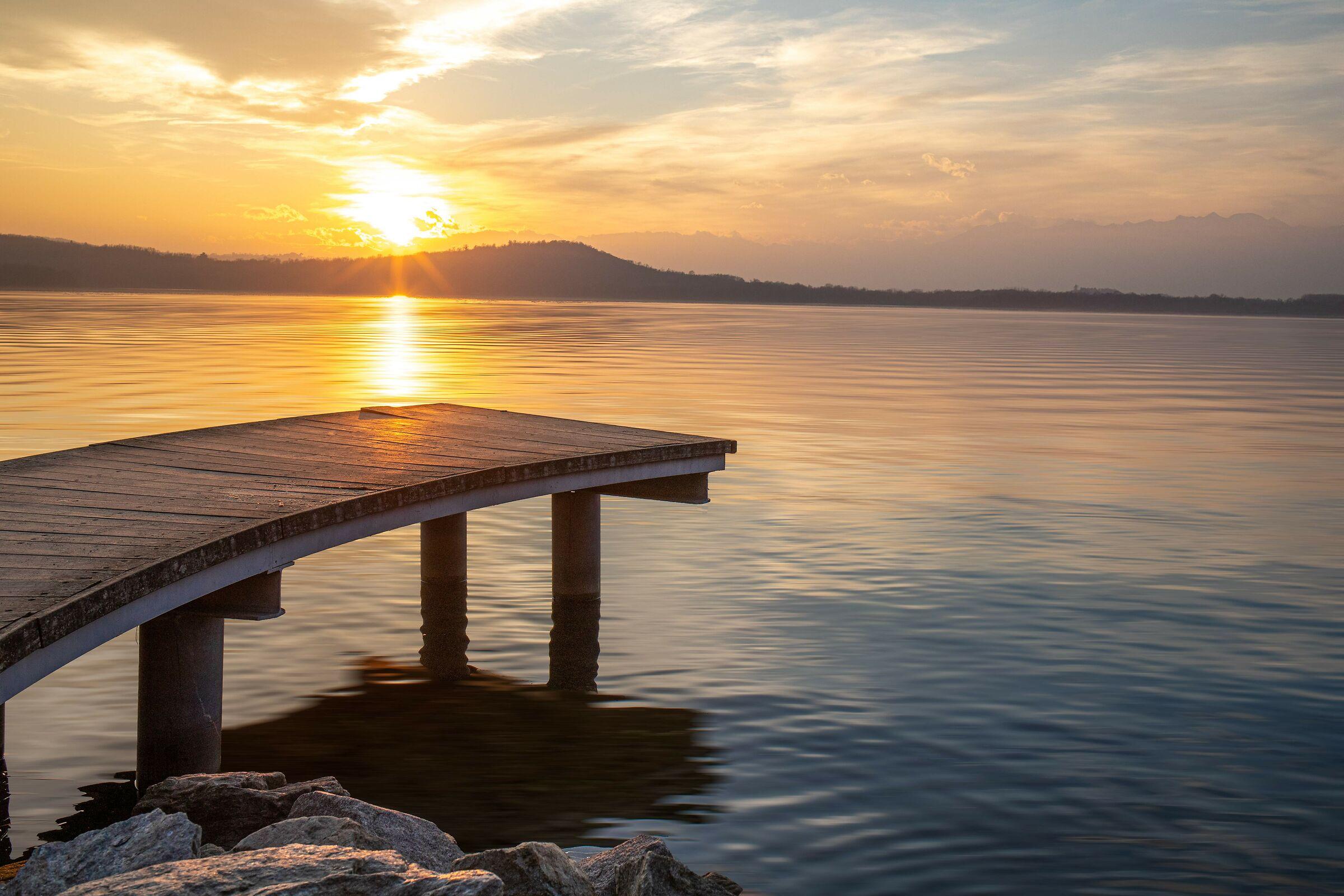Viverone lake...