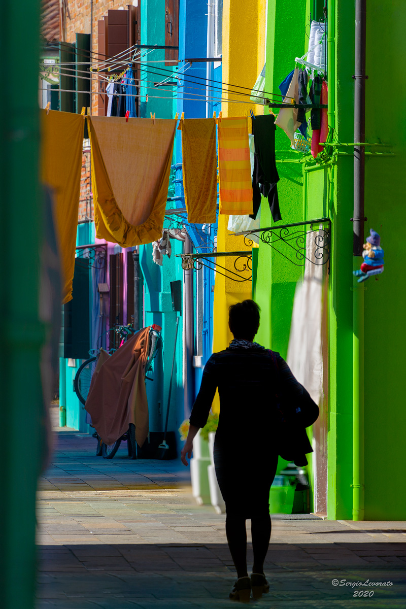 Burano... everything is color...