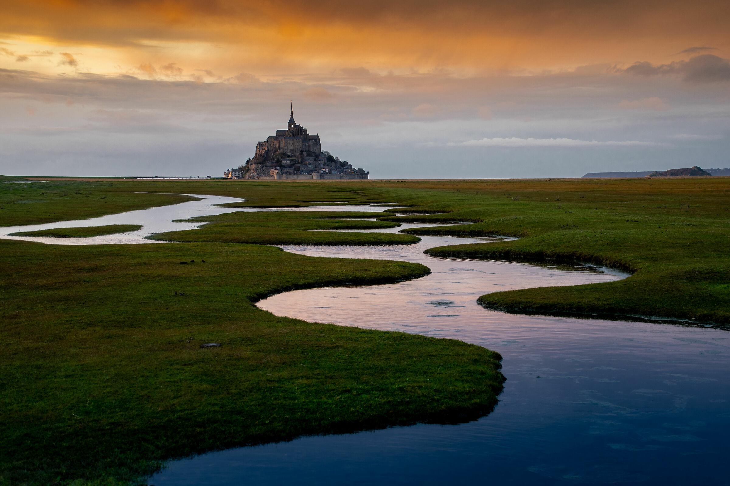 Le Mont St Michel...