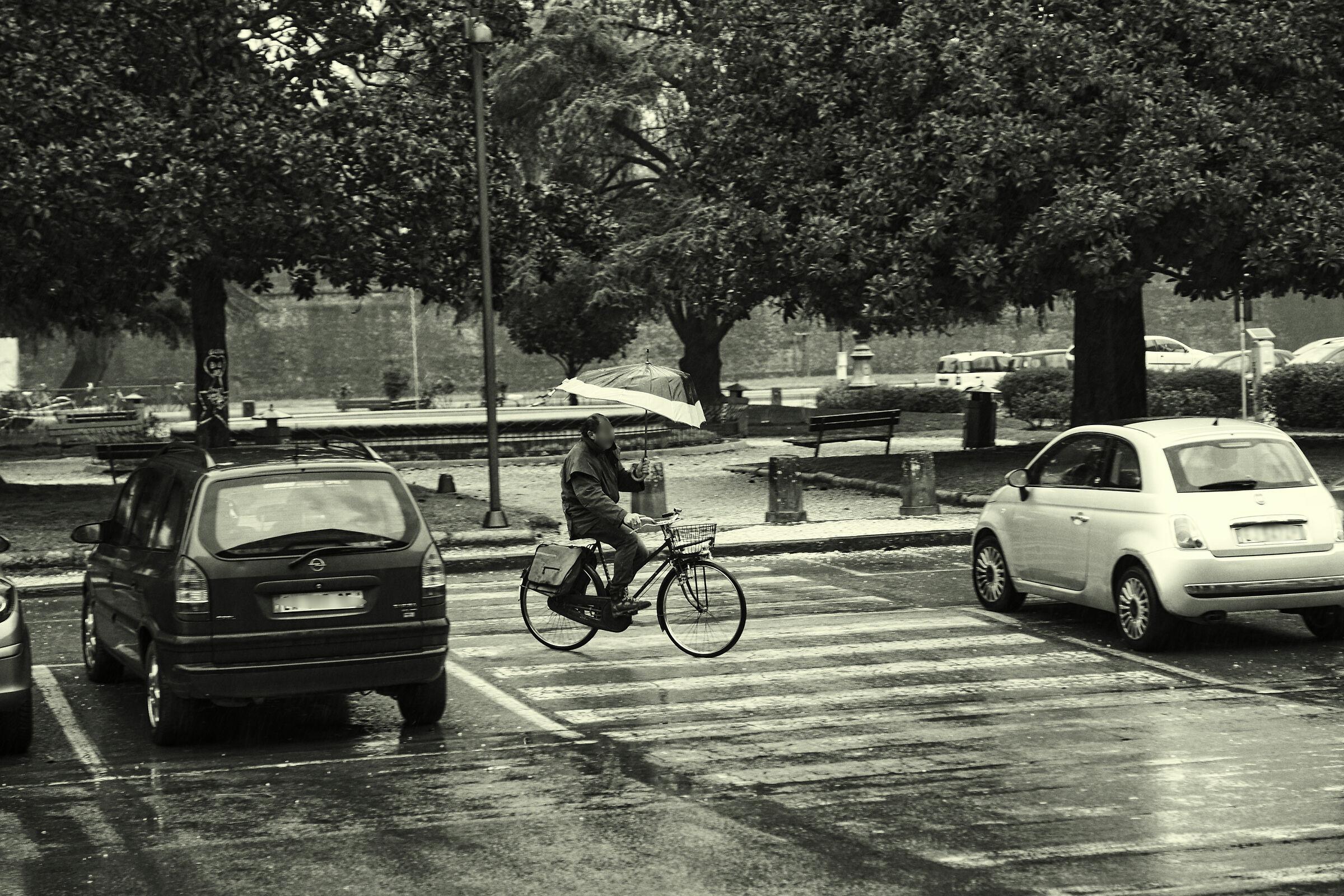 Lucca in the rain.............