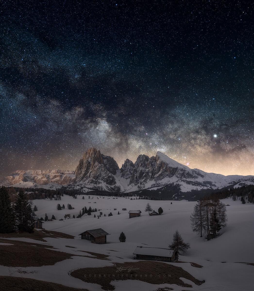 Alpe di Siusi Milky Way...