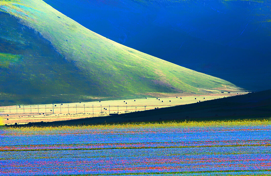 Castelluccio di Norcia plan great...