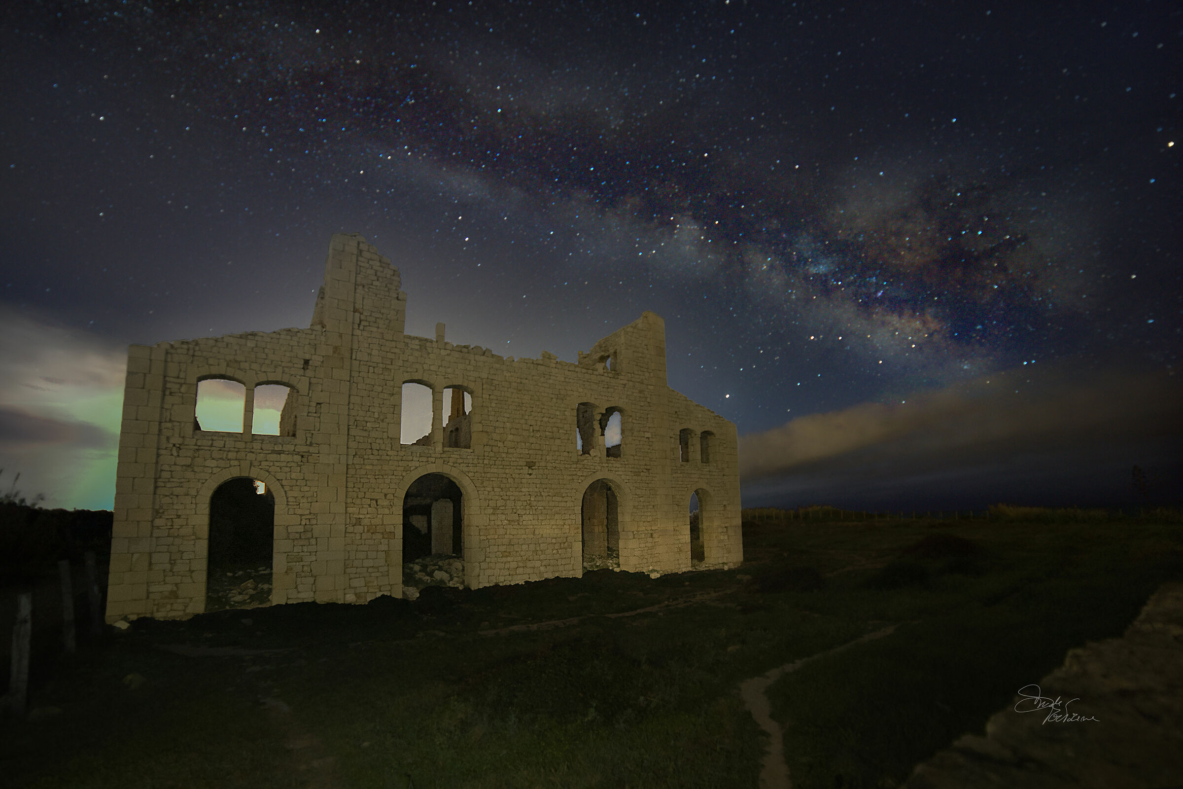 Milky Way from the Pen Furnace...