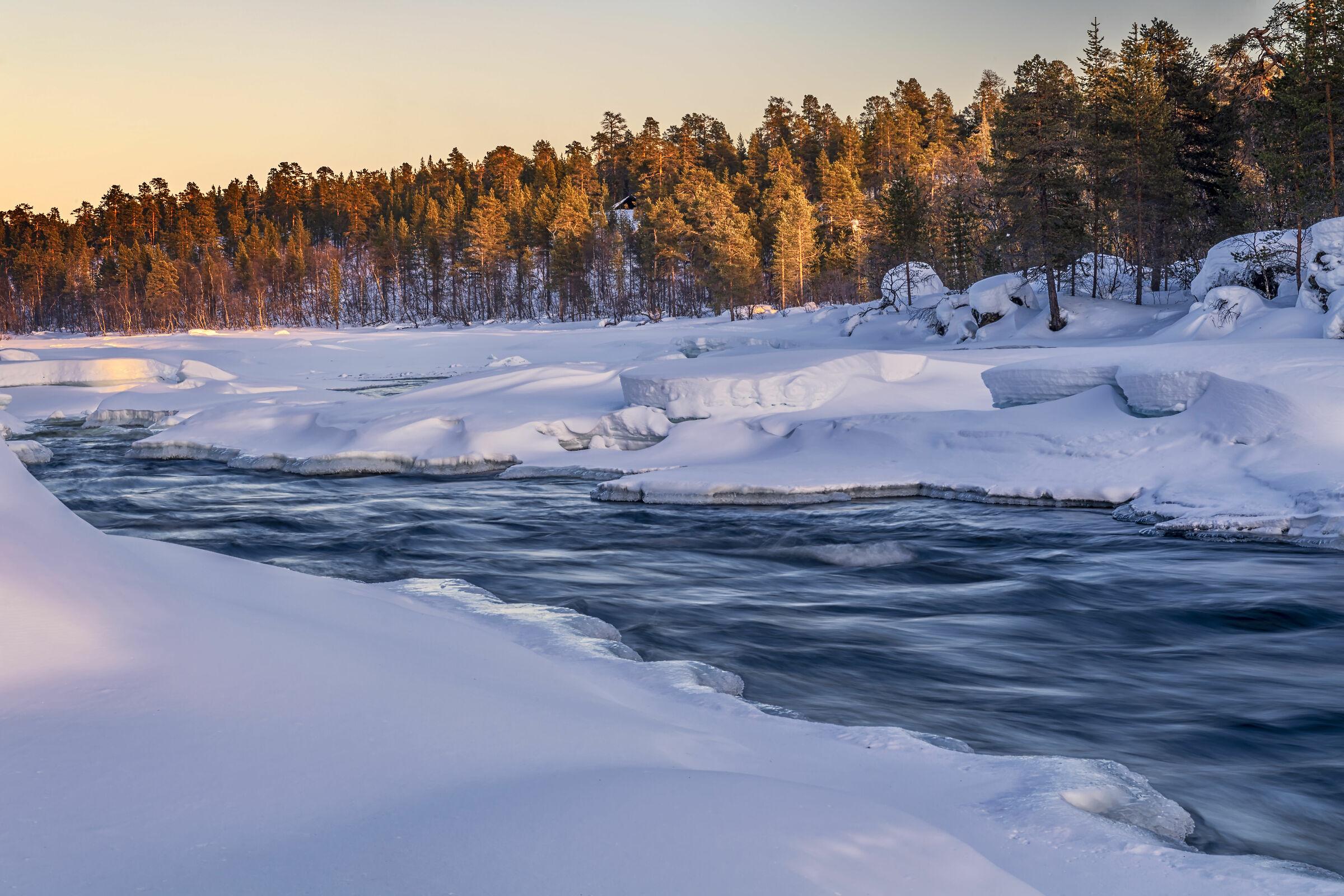 Sunset Lapland...