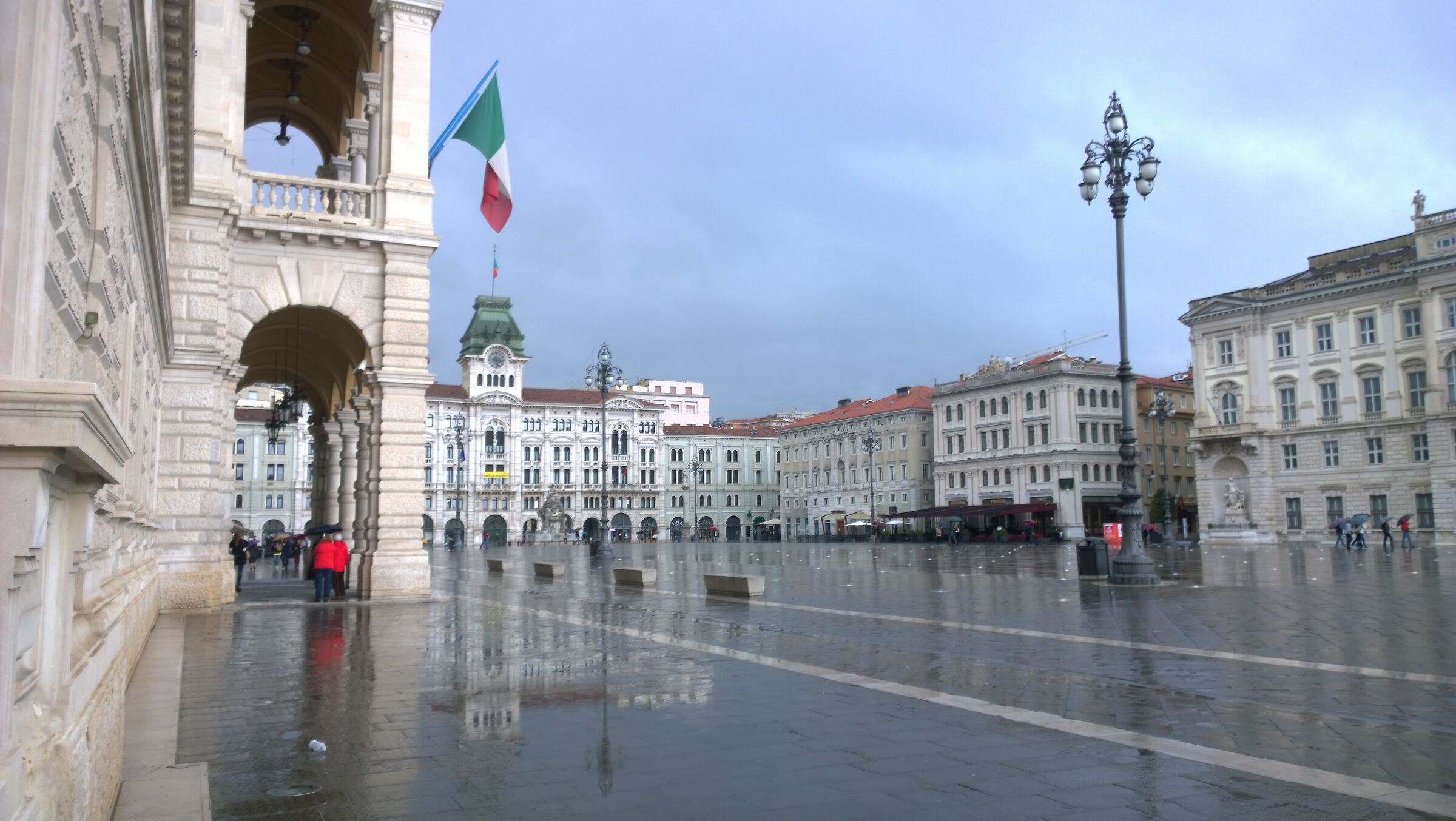 Piazza Unity of Italy - Trieste...