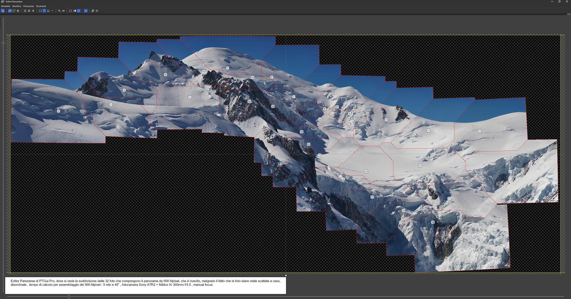 Editor Panorama di PTGui Pro...