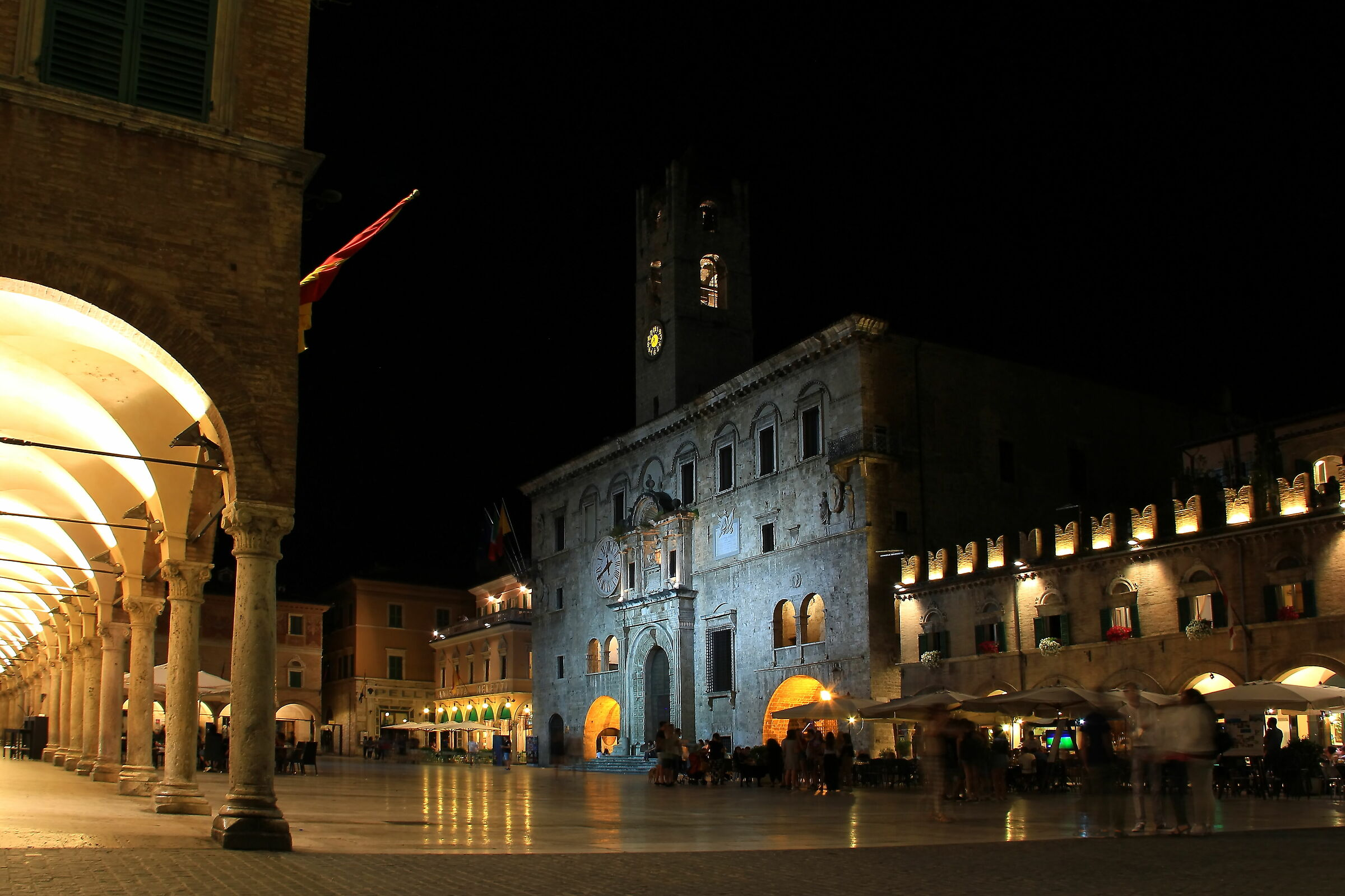 Ascoli Piceno. People's Square...