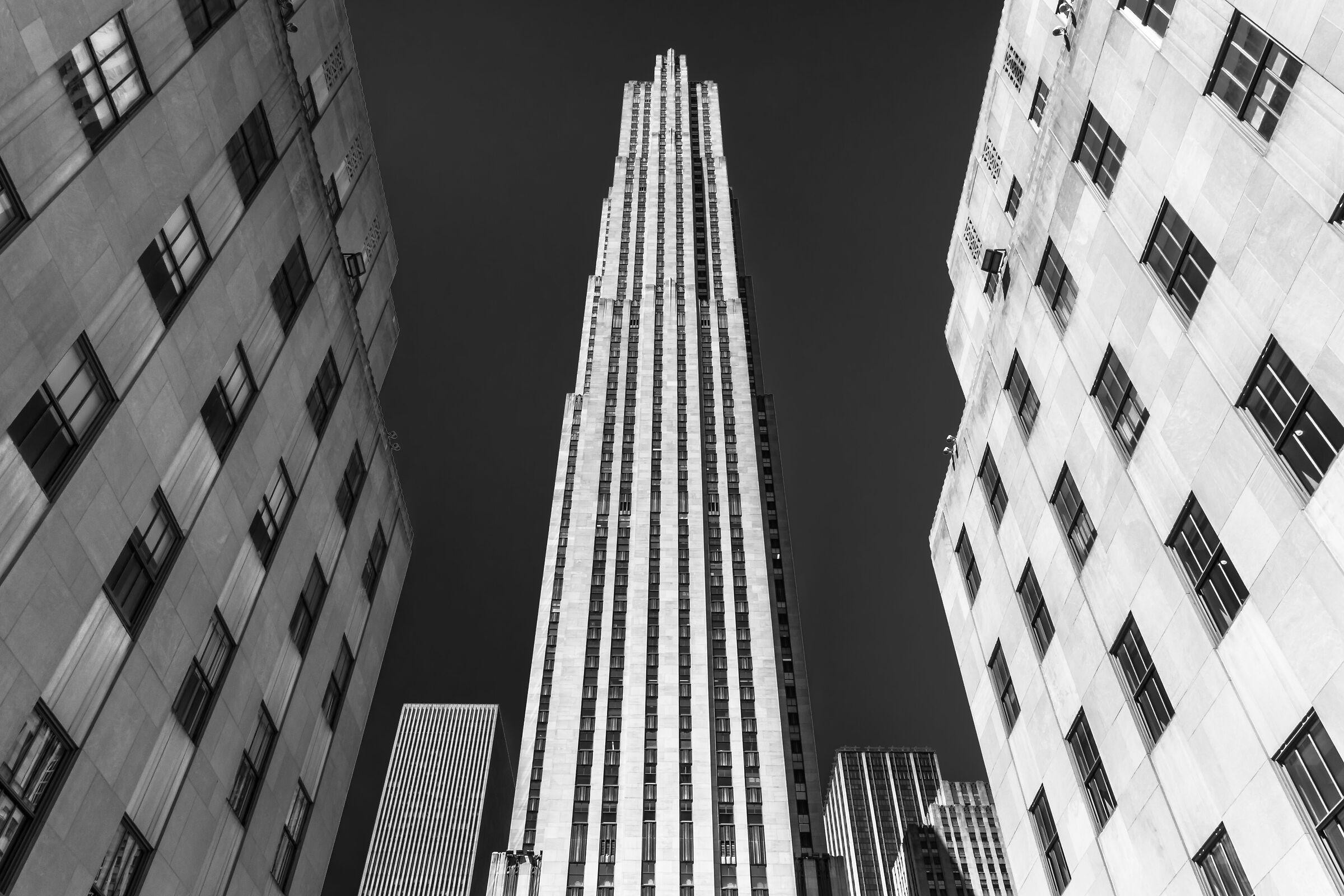 The Rockefeller Center...