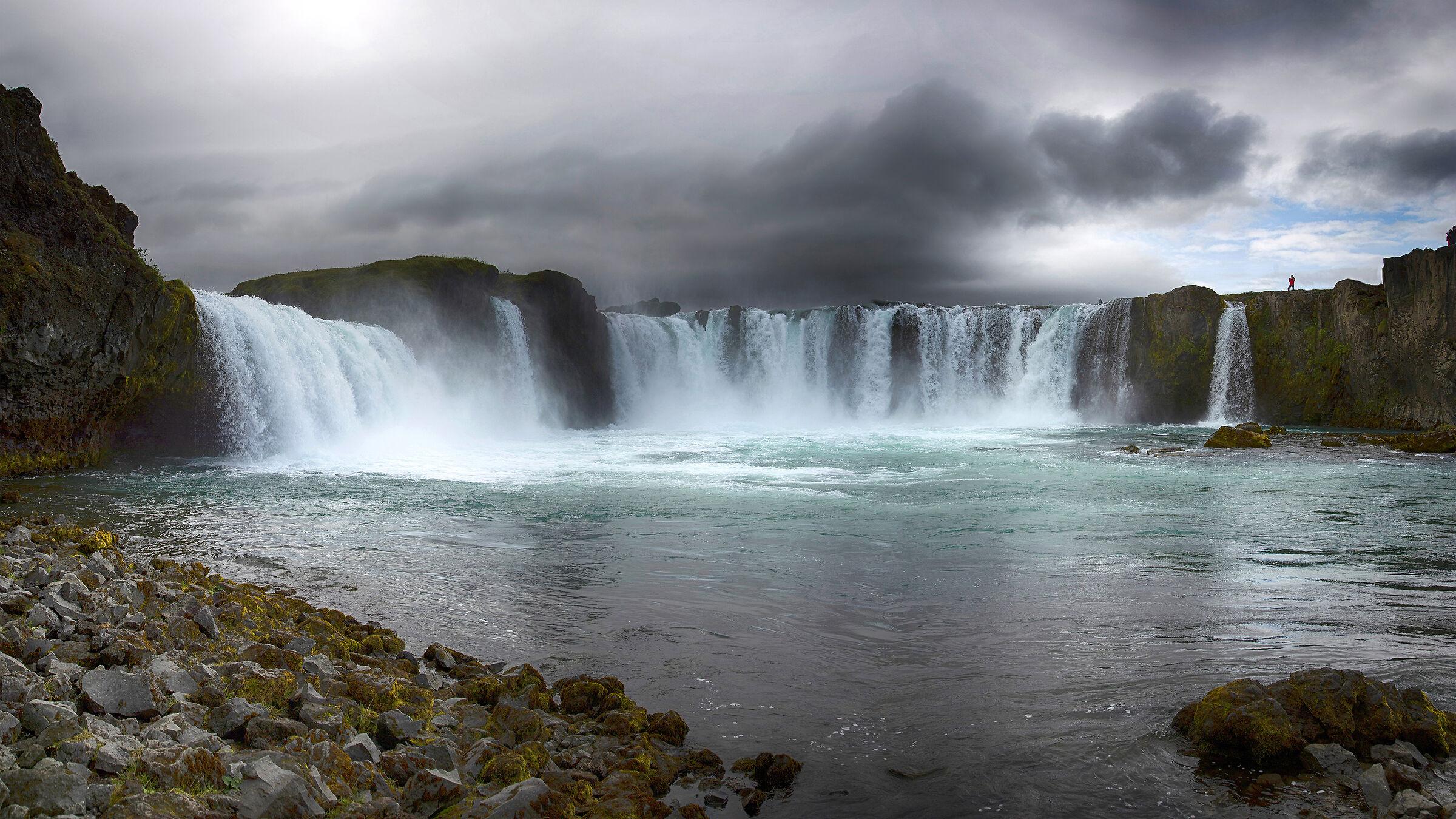 Godafoss - the waterfall of the gods...