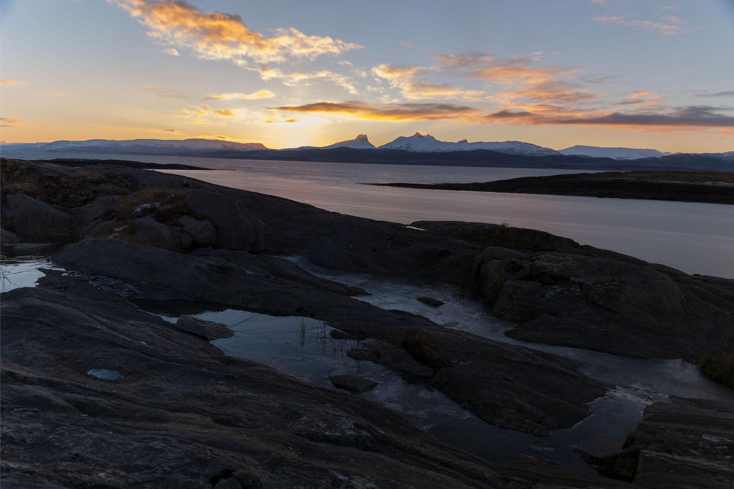 Nordic sunrise...