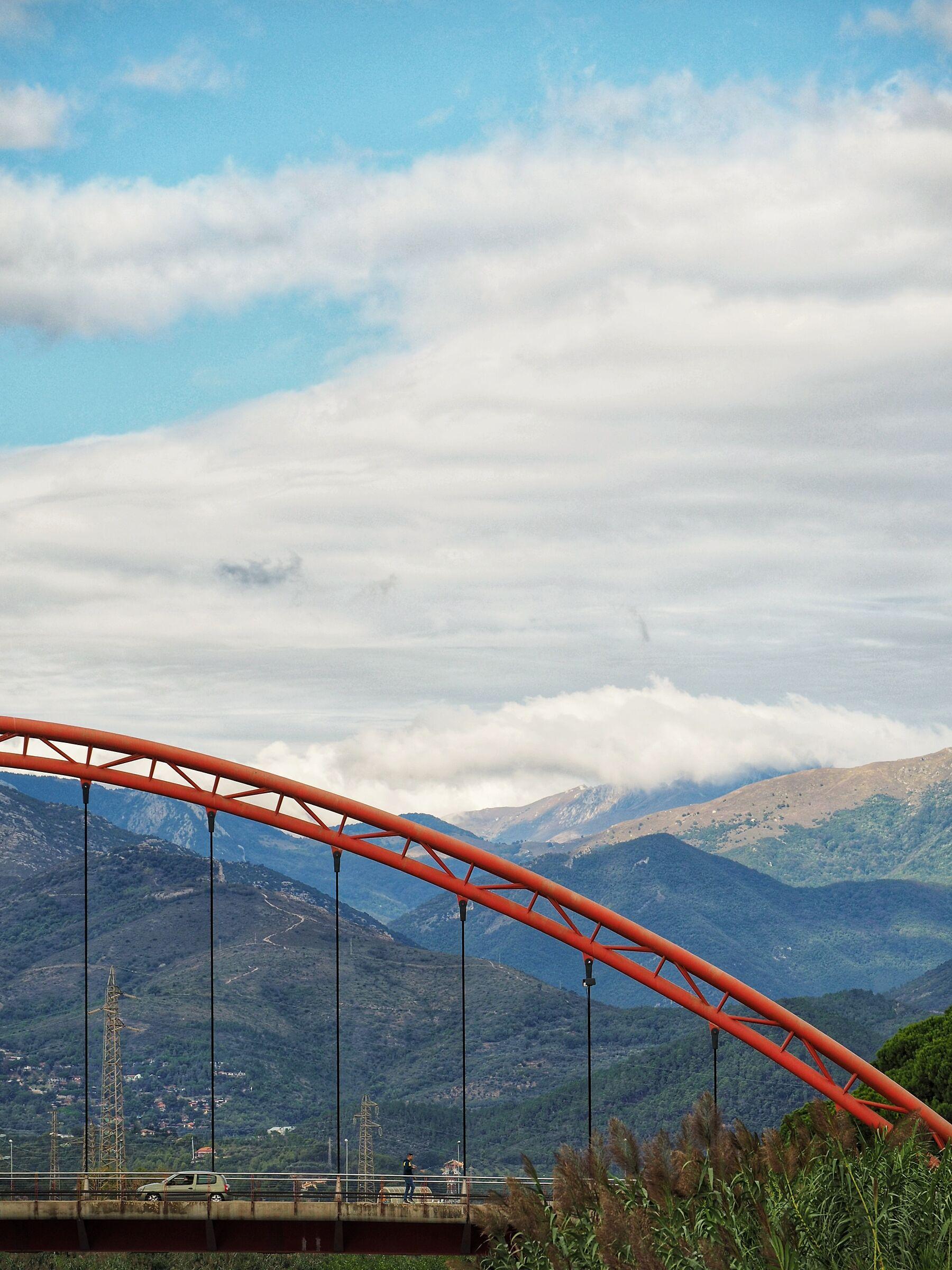 """Albenga ponte """"rosso""""..."""