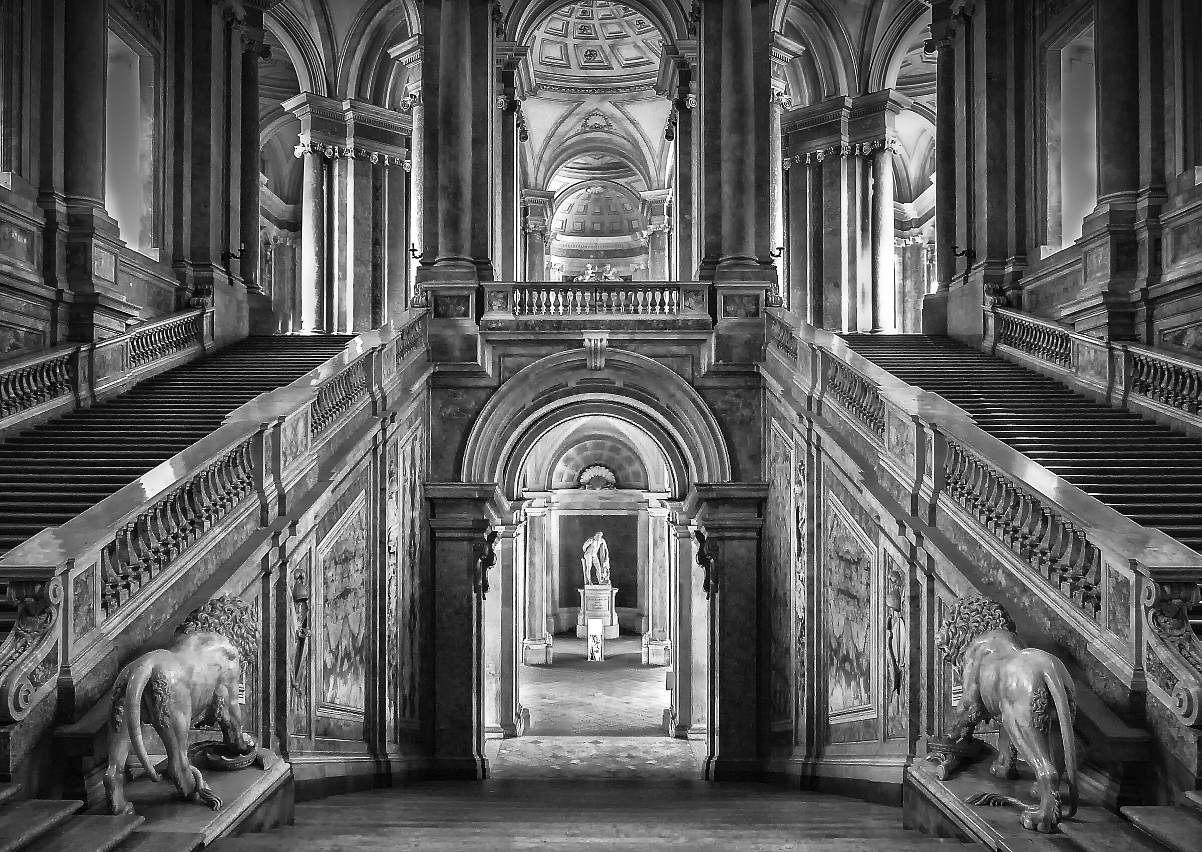 Vanvitelli's Staircase of Honour...