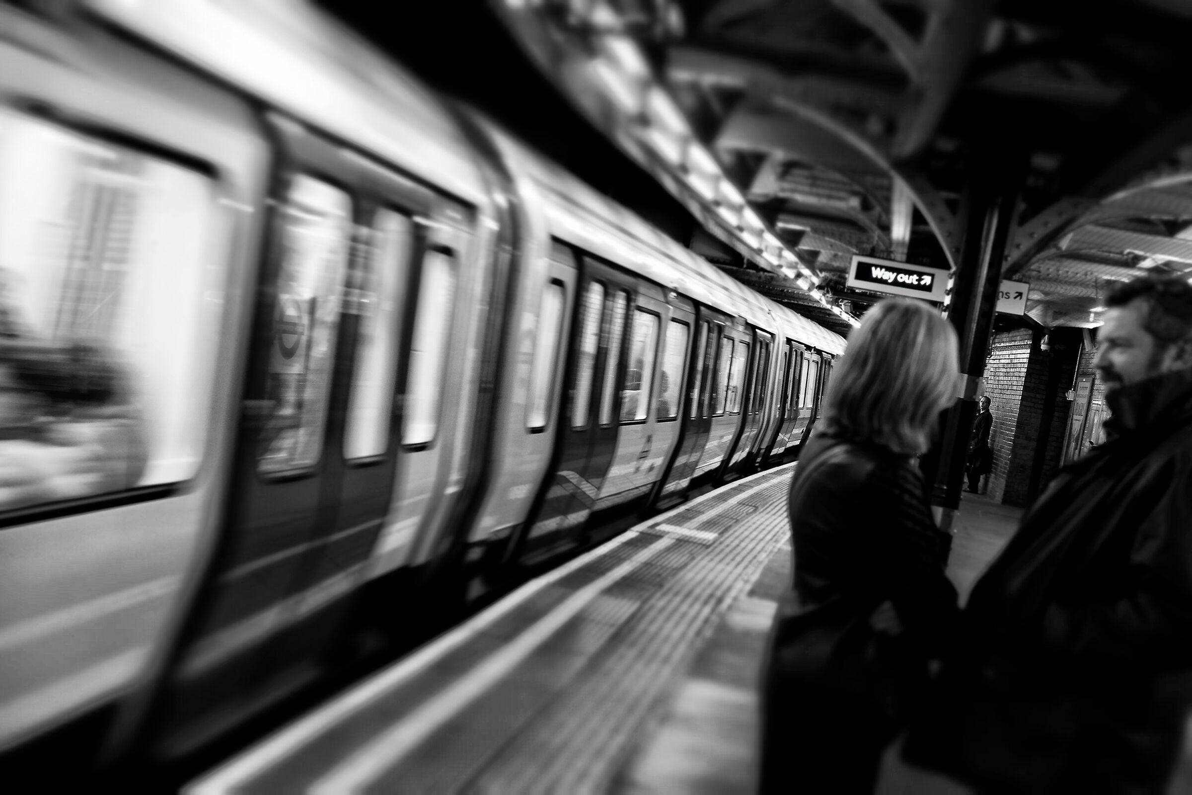 Londra. Metropolitana....