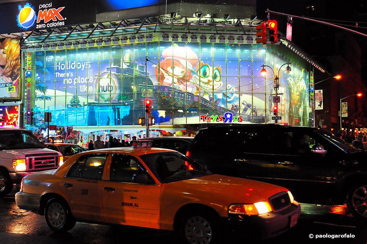 Una notte a Times Square...