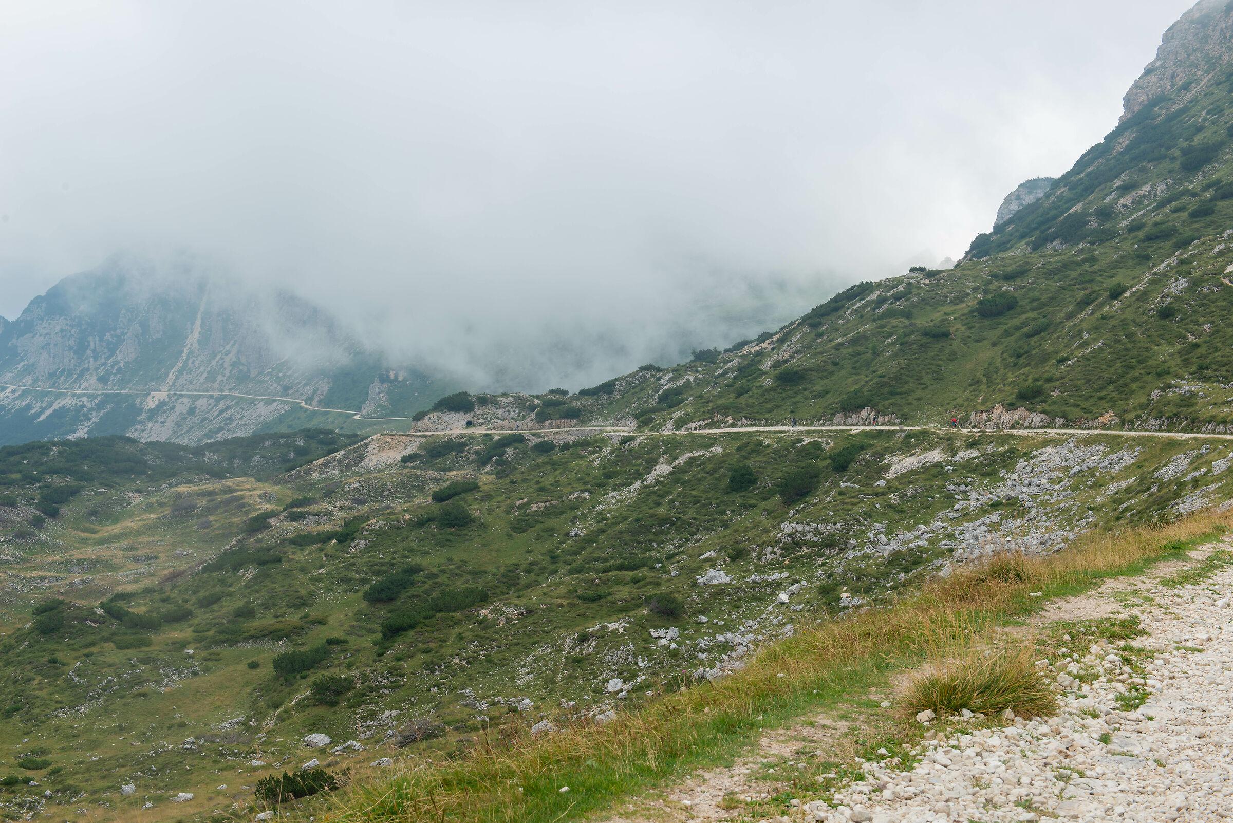 Strada degli Scarubbi (Monte Pasubio)...
