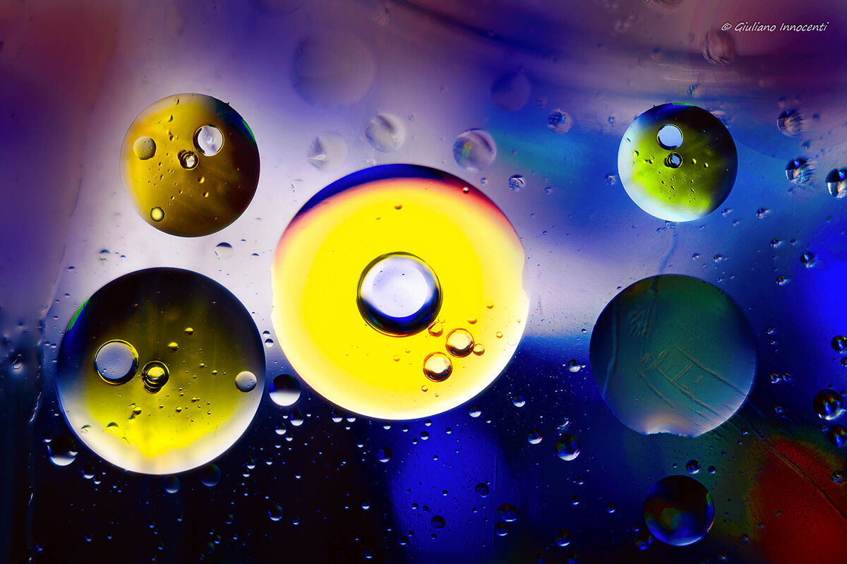oil bubbles......ioRestoaCasa...