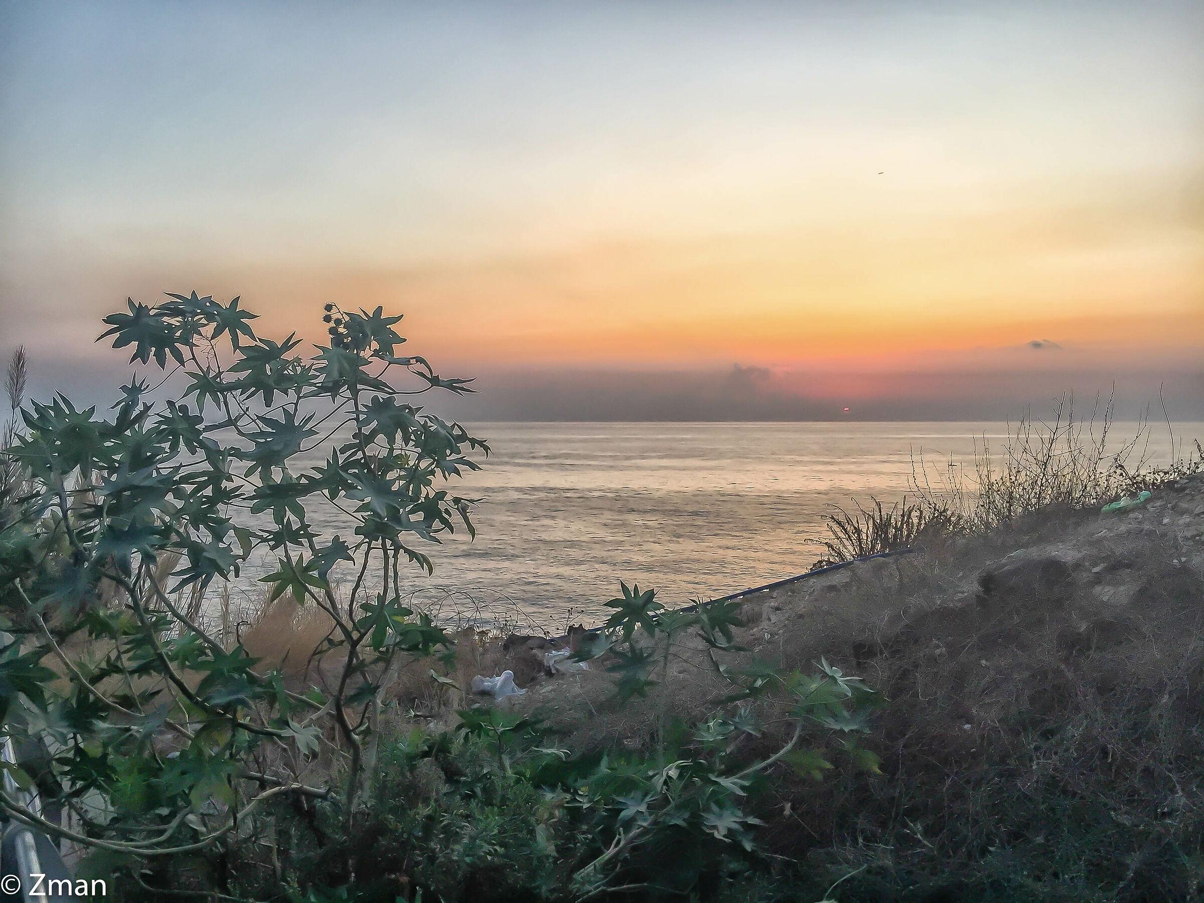 Sunset at White Sands Beach...