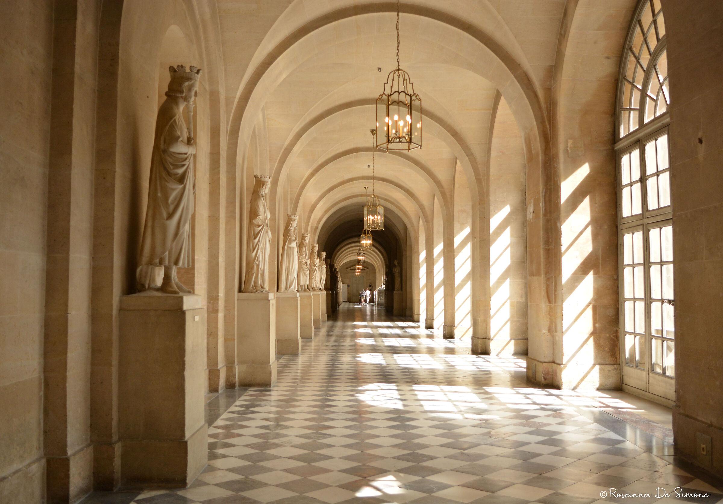 Luce a Versailles...