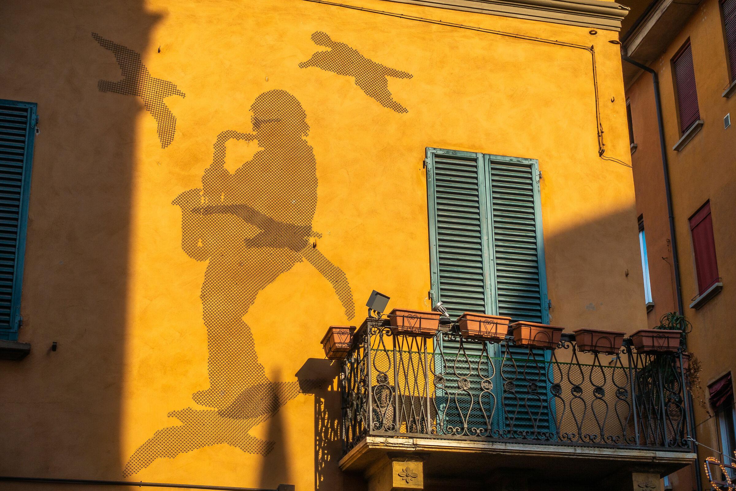 Bologna home of Lucio Dalla...