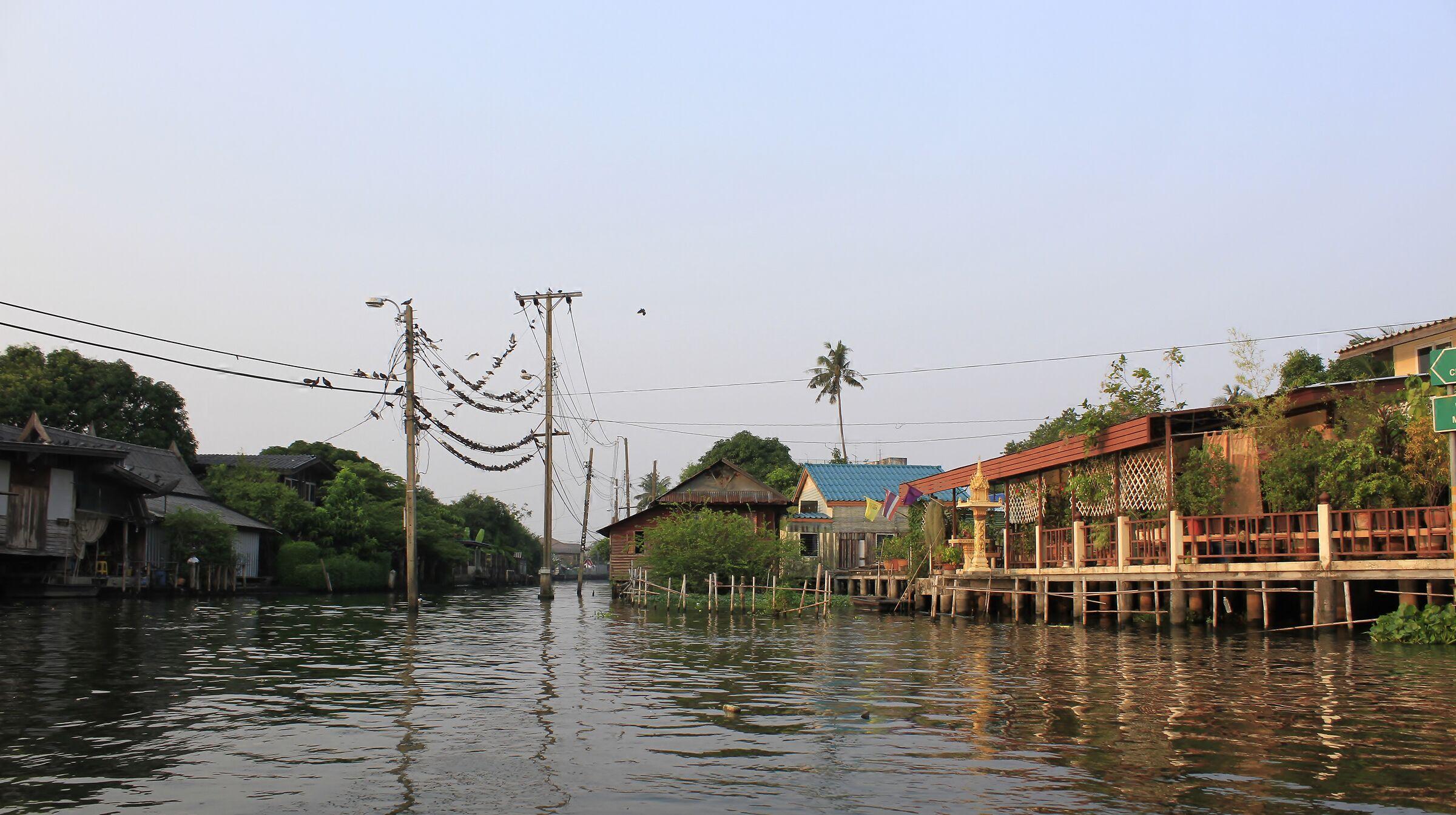 I canali di Bangkok...