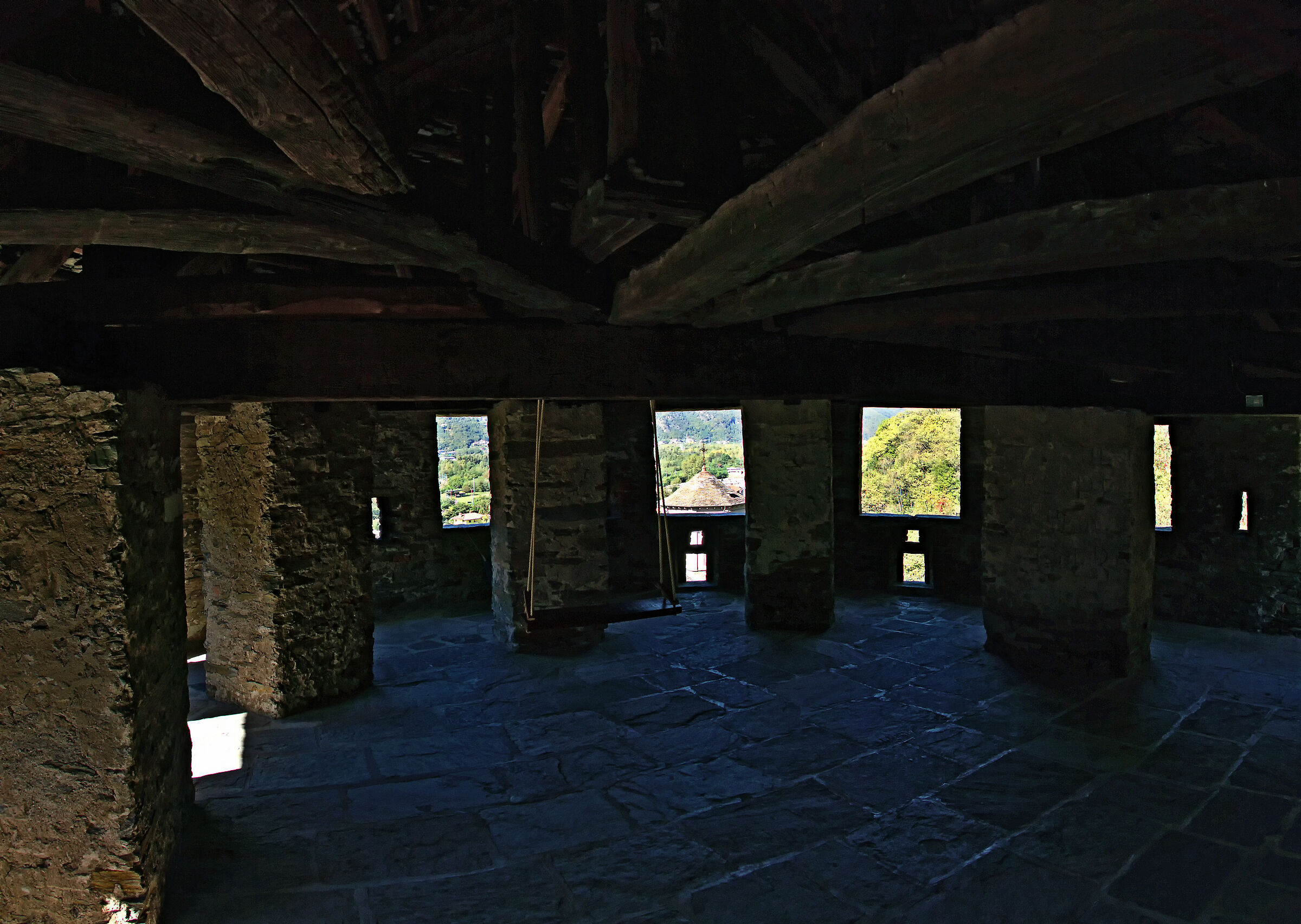 Interior of the Tower of the Cstello of Vogogna 2017 2020...