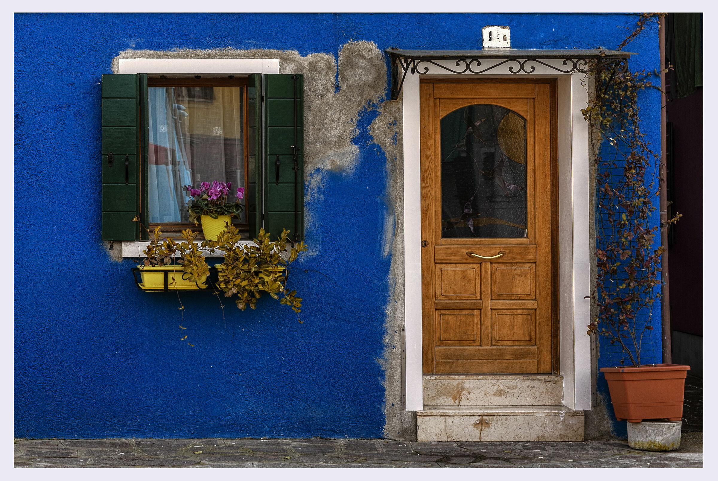 La finestra e la porta...