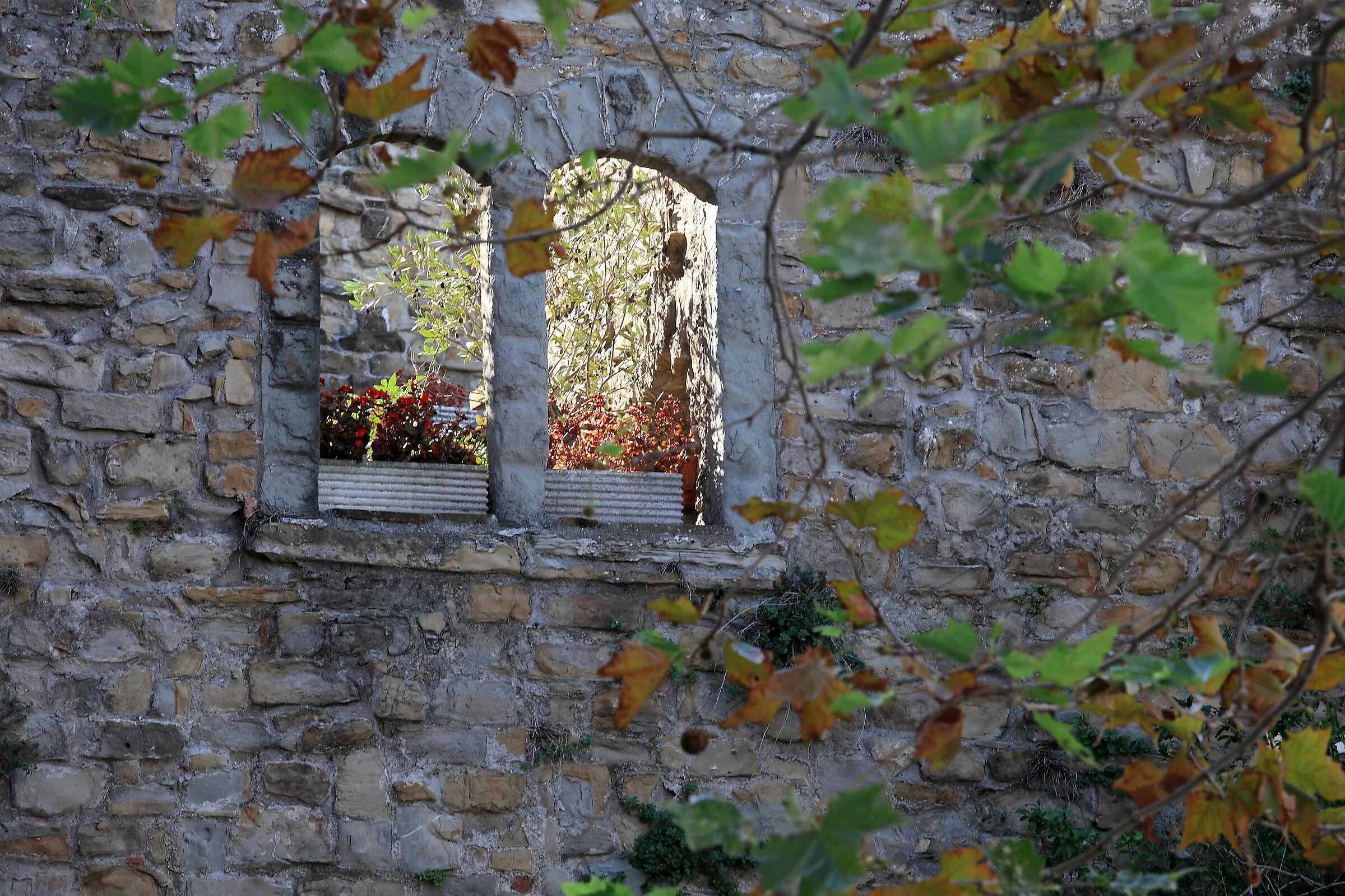 Muggesano glimpse (old walls)...