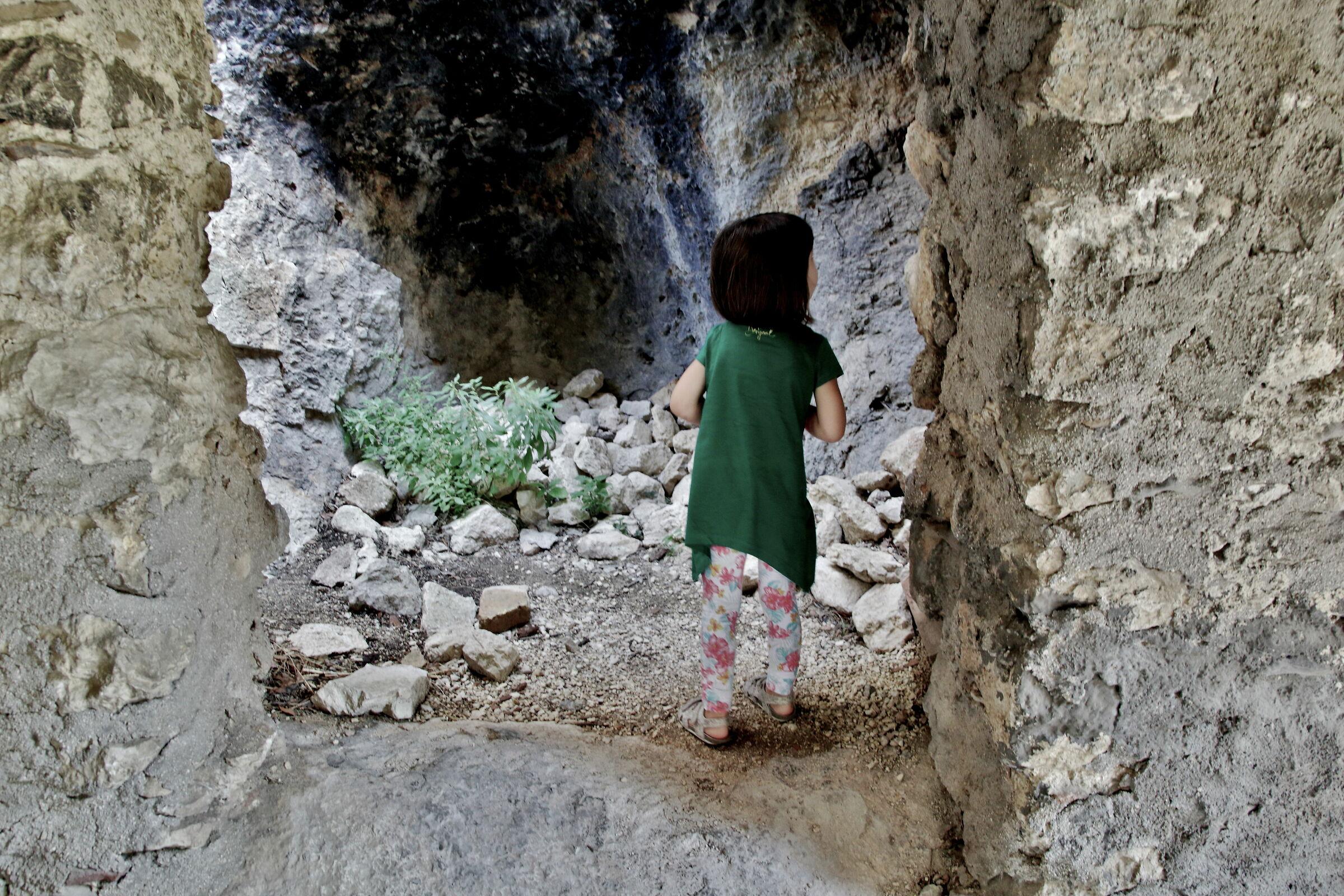 la piccola esploratrice...