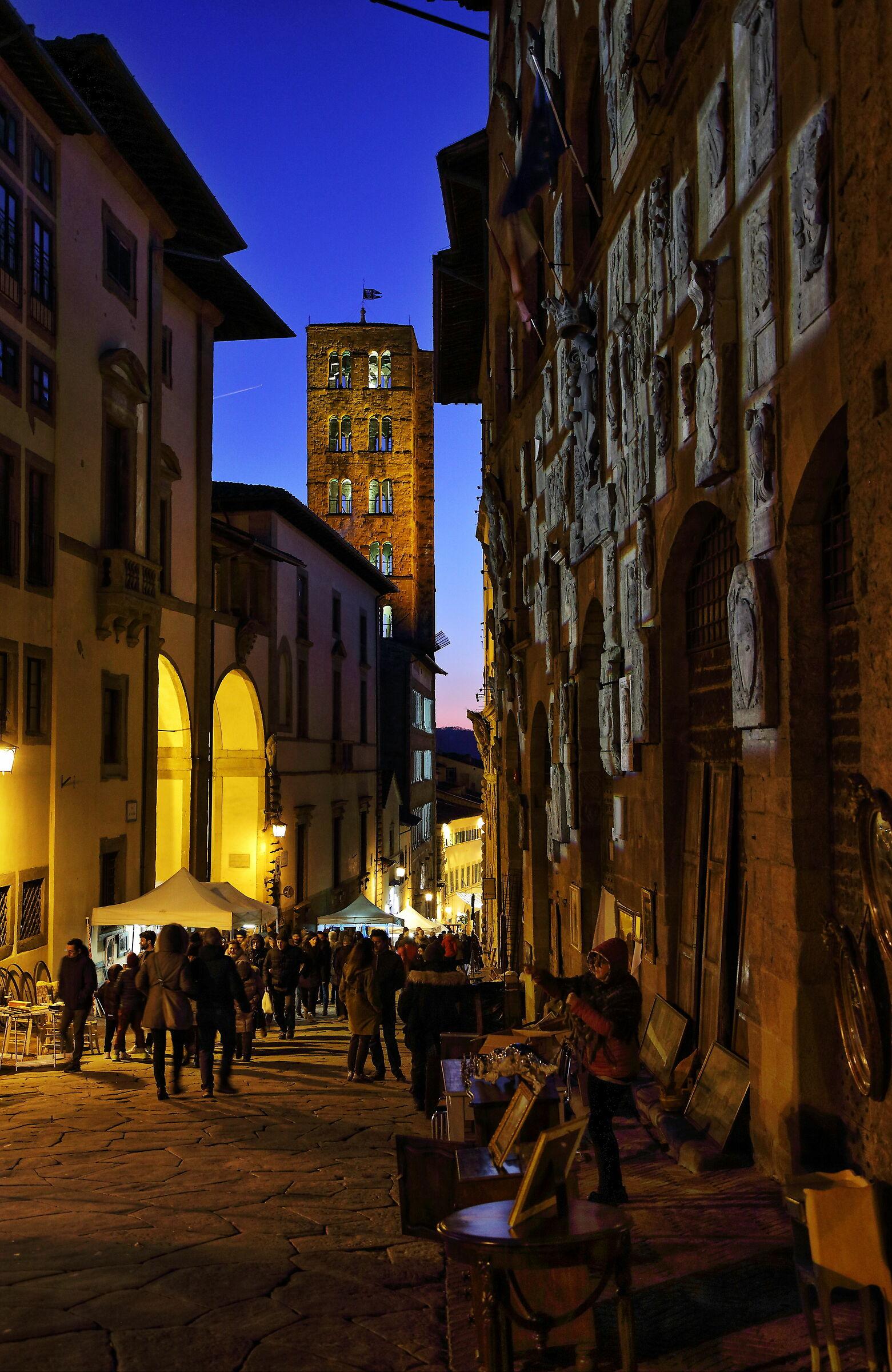 Tutto tramonterà, a presto mia Arezzo...