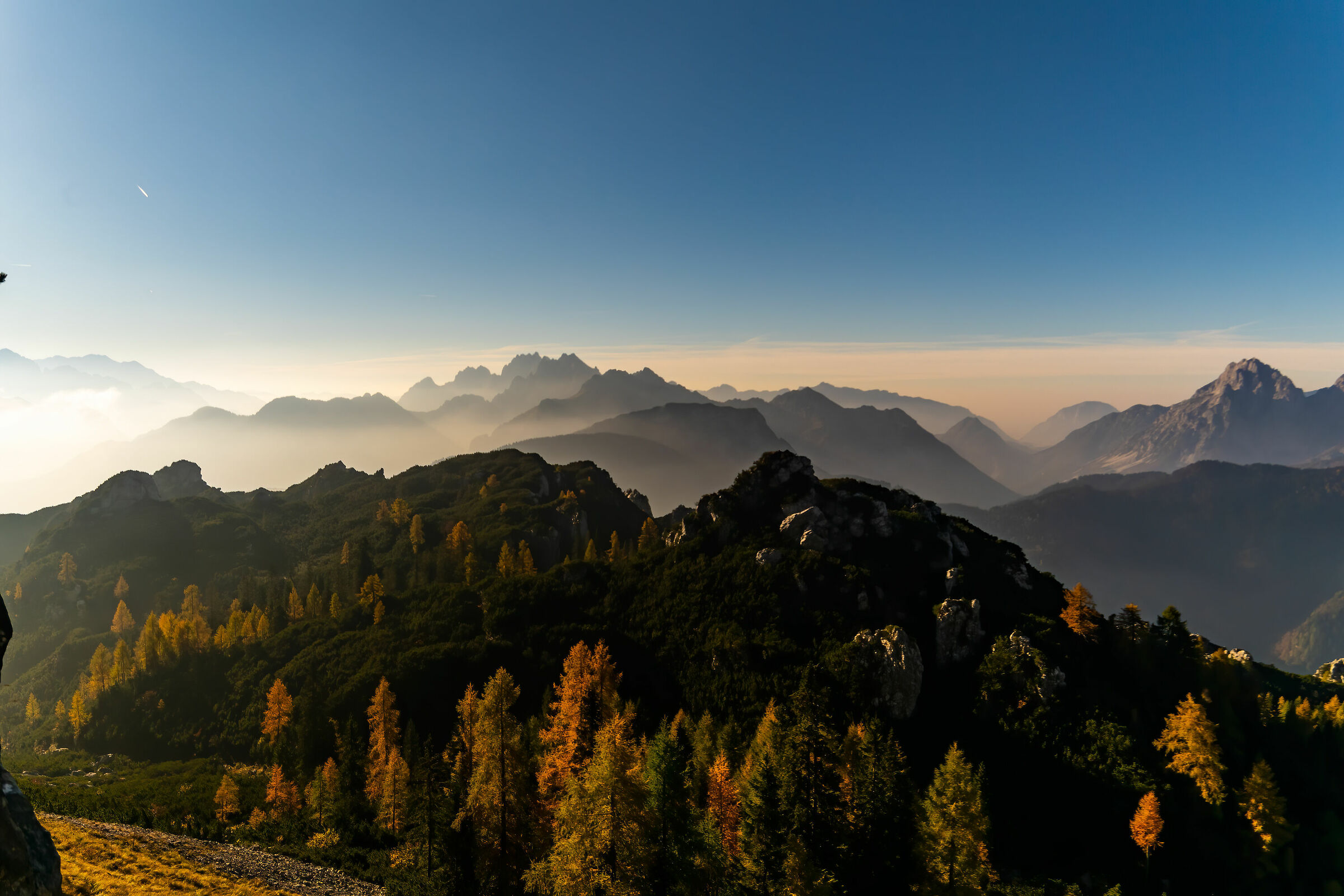 Alpi carniche autunnali...