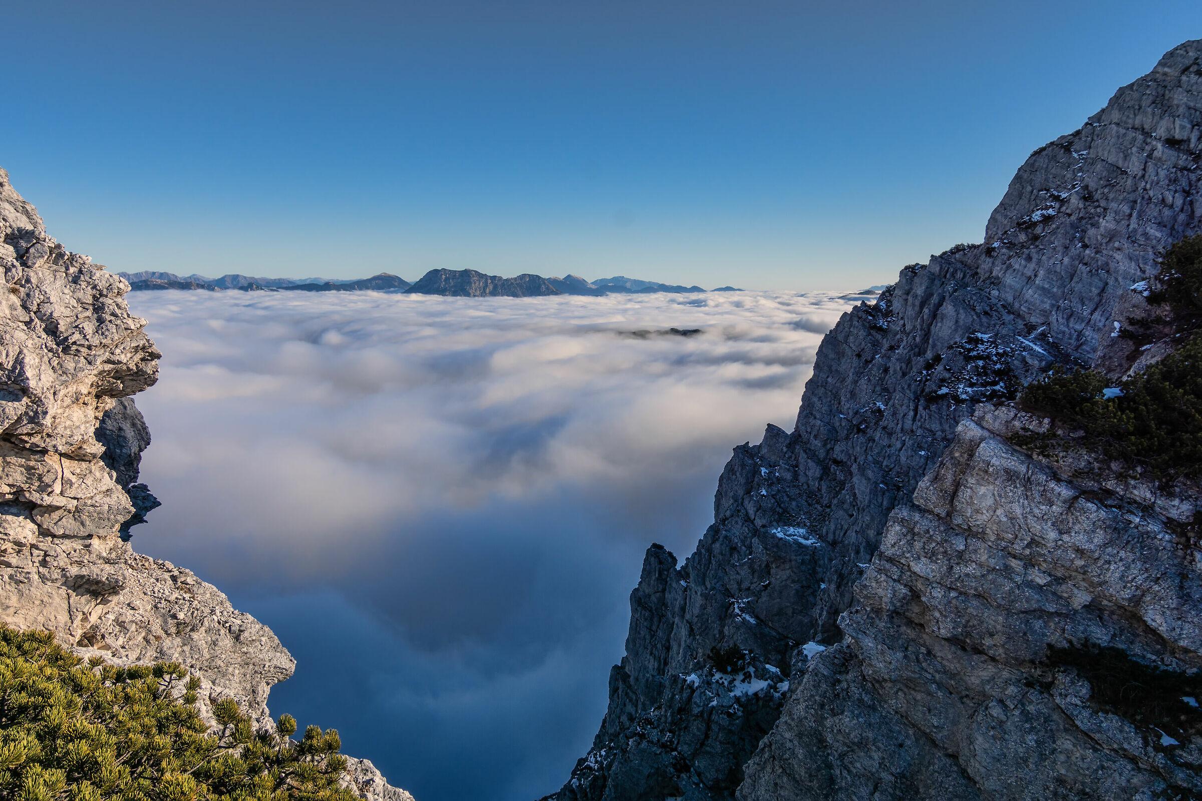 Vista mare ( di nubi )...