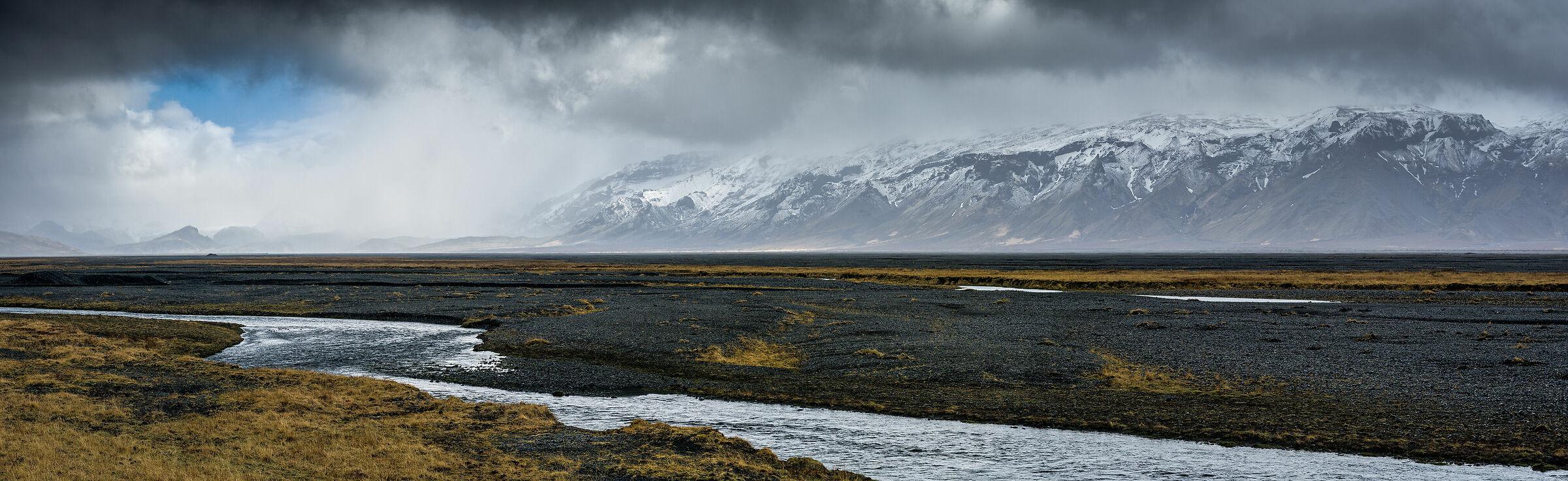 Eyjafjallaj-kull panorama...